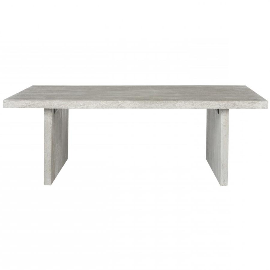 Trendy Safavieh Anwen Geometric Wood Coffee Tables Pertaining To Safavieh Senjo Rouge Coffee Table (View 12 of 20)