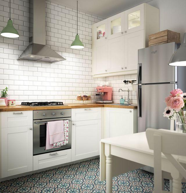 Trendy Savedal White Kitchen – Google Search (View 16 of 20)