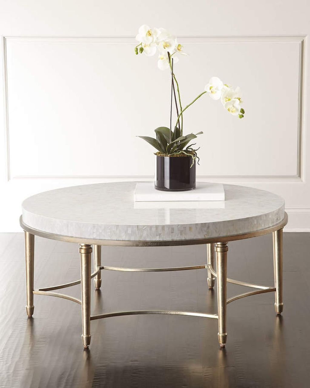 Trendy Silver Orchid Henderson Faux Stone Round End Tables In 20+ Extraordinary Ideas Of Round Furniture For Every Home (View 12 of 20)