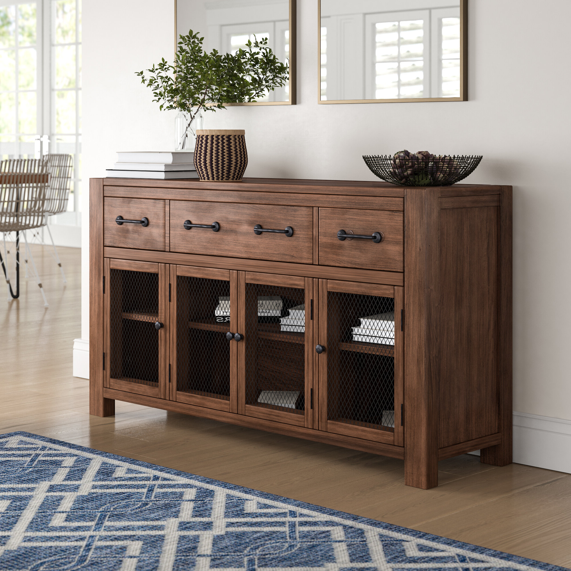 Trevion Buffet Table Throughout Filkins Sideboards (View 5 of 20)