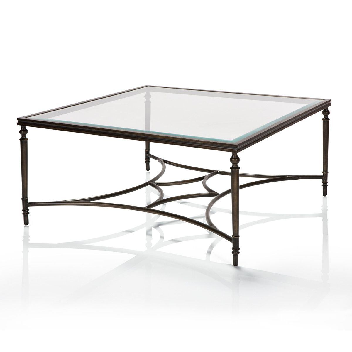 Tribeca Metal Coffee Table – Max Sparrow (View 19 of 20)