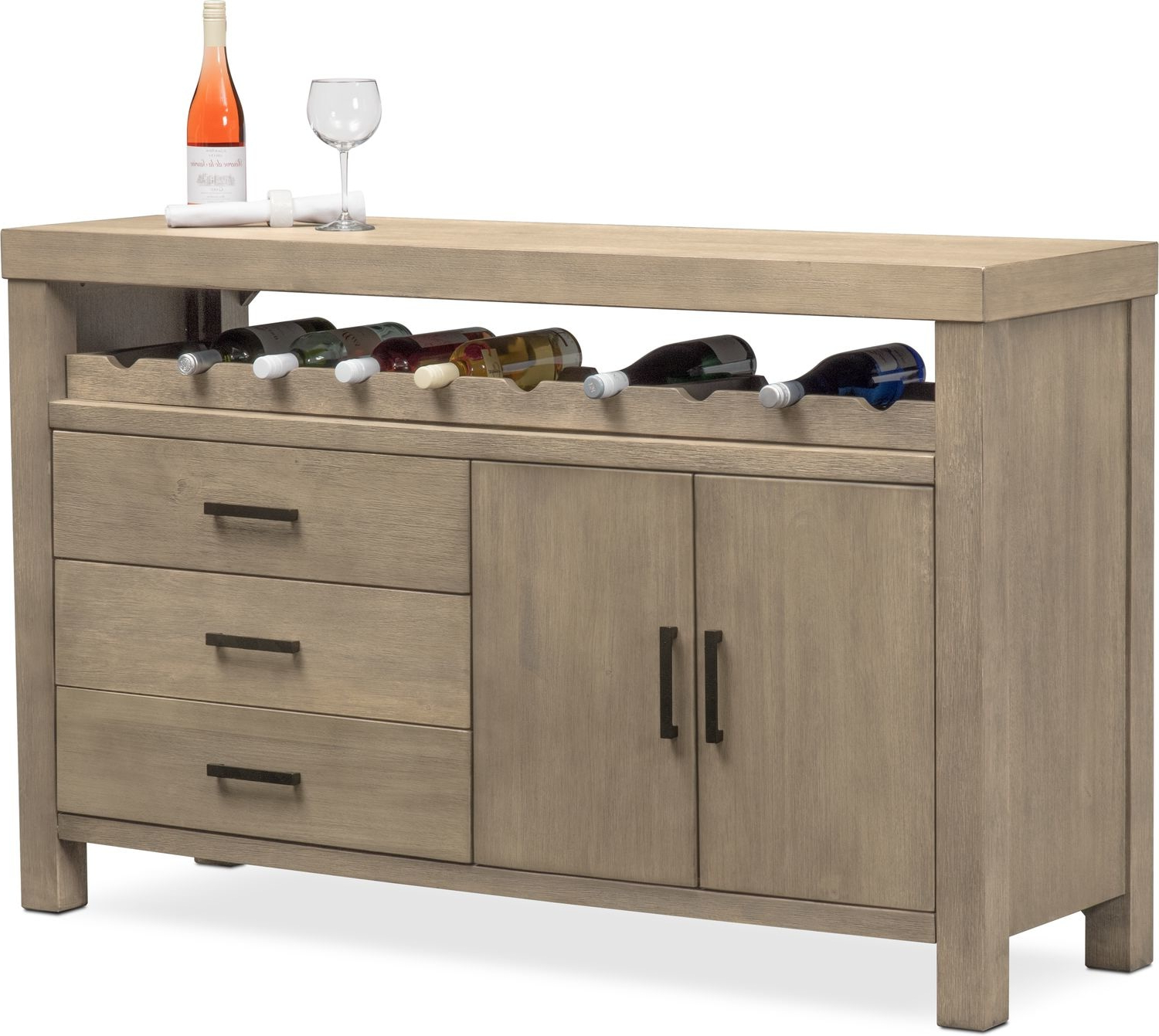 Tribeca Sideboard – Gray For Tribeca Sideboards (View 10 of 20)
