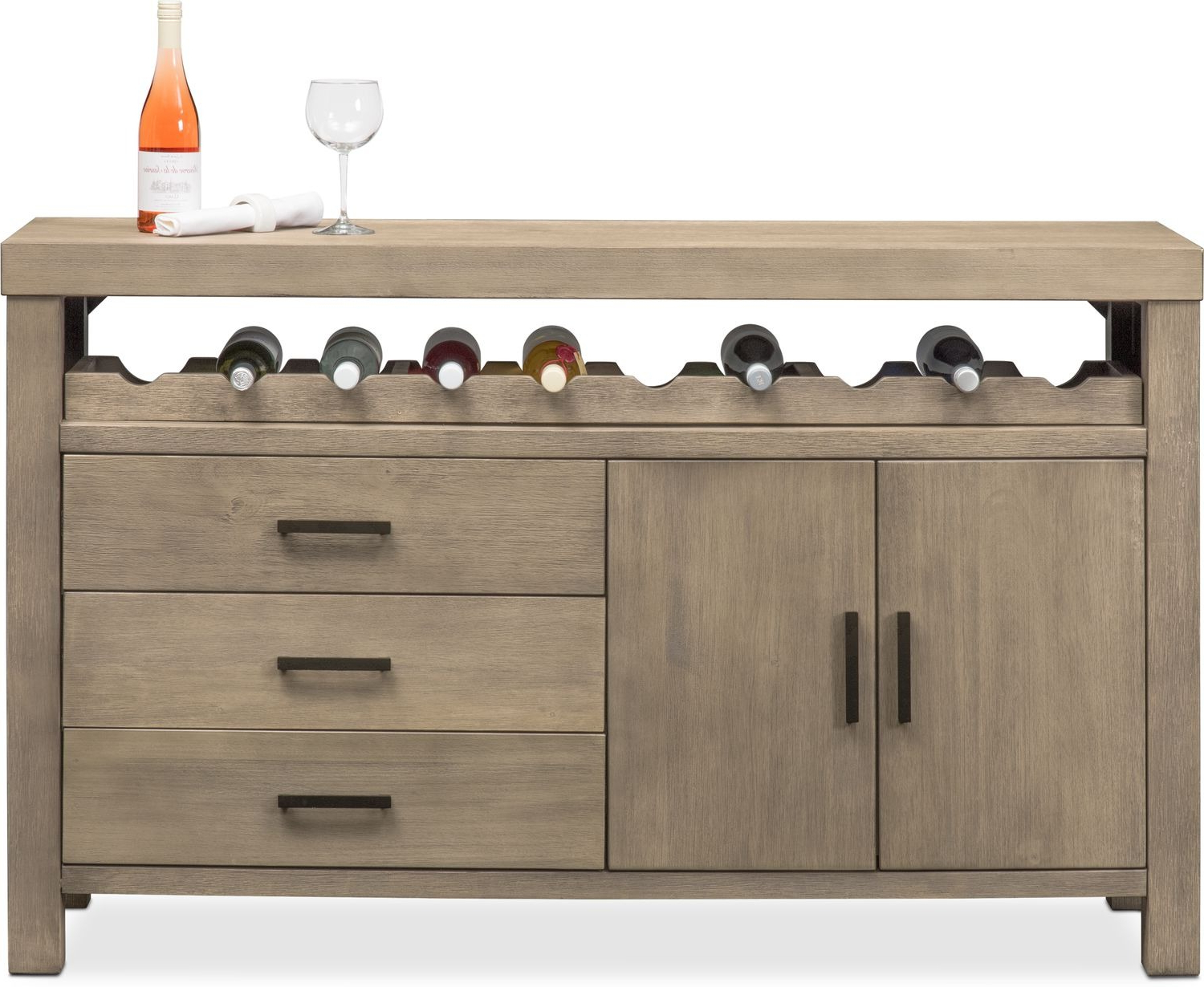 Tribeca Sideboard – Gray Intended For Tribeca Sideboards (View 3 of 20)