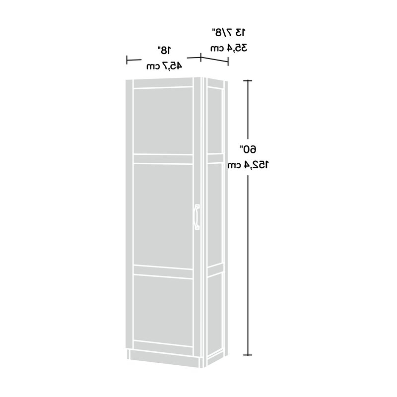 """Tuohy 60"""" Kitchen Pantry Intended For Most Recent Tuohy Kitchen Pantry (View 5 of 20)"""