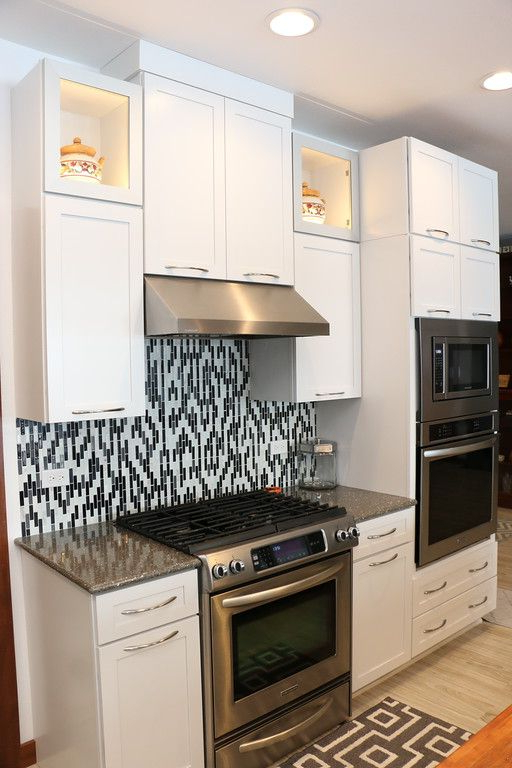 Tuohy Kitchen Pantry In Fashionable Kraftmaid Lyndale Maple Dove White 20160128 – Bruce Hall (View 15 of 20)
