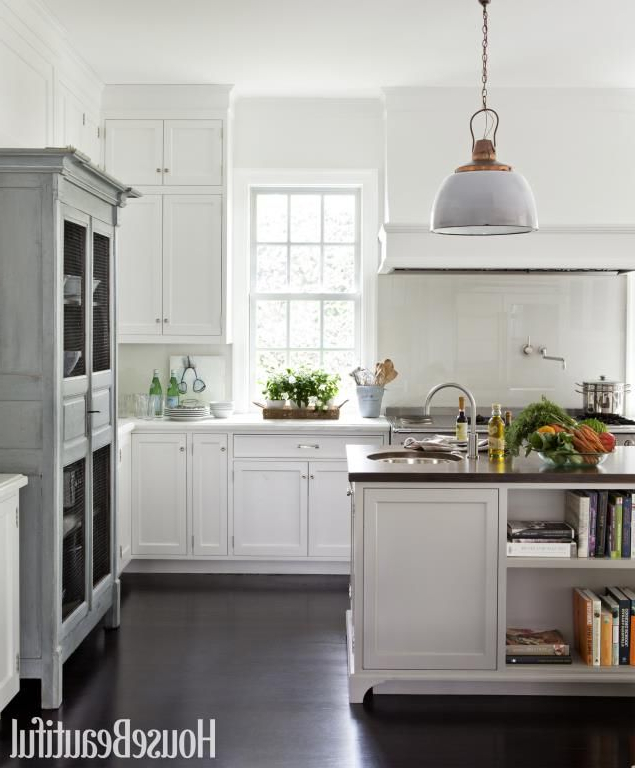 Tuohy Kitchen Pantry Throughout Most Recent Kitchen With A Warm Patina (lisa Romerein) (View 10 of 20)