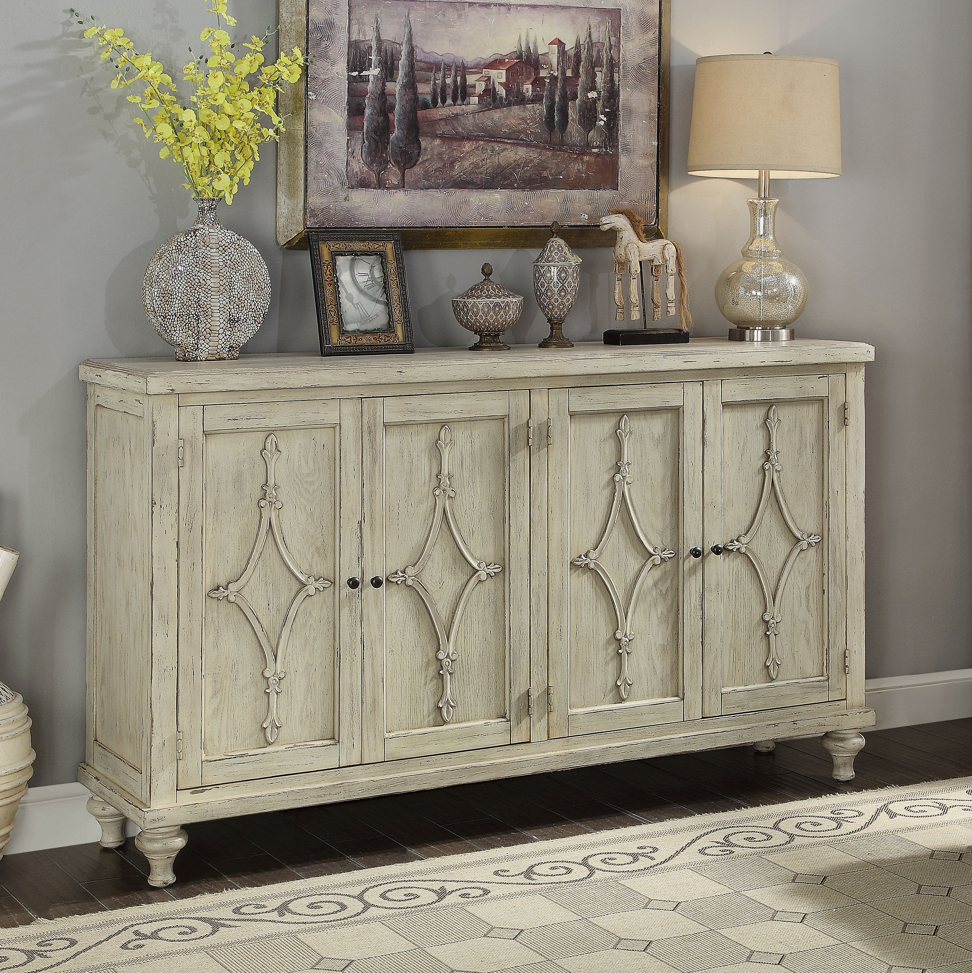 """Turenne Tv Stand For Tvs Up To 60"""" 