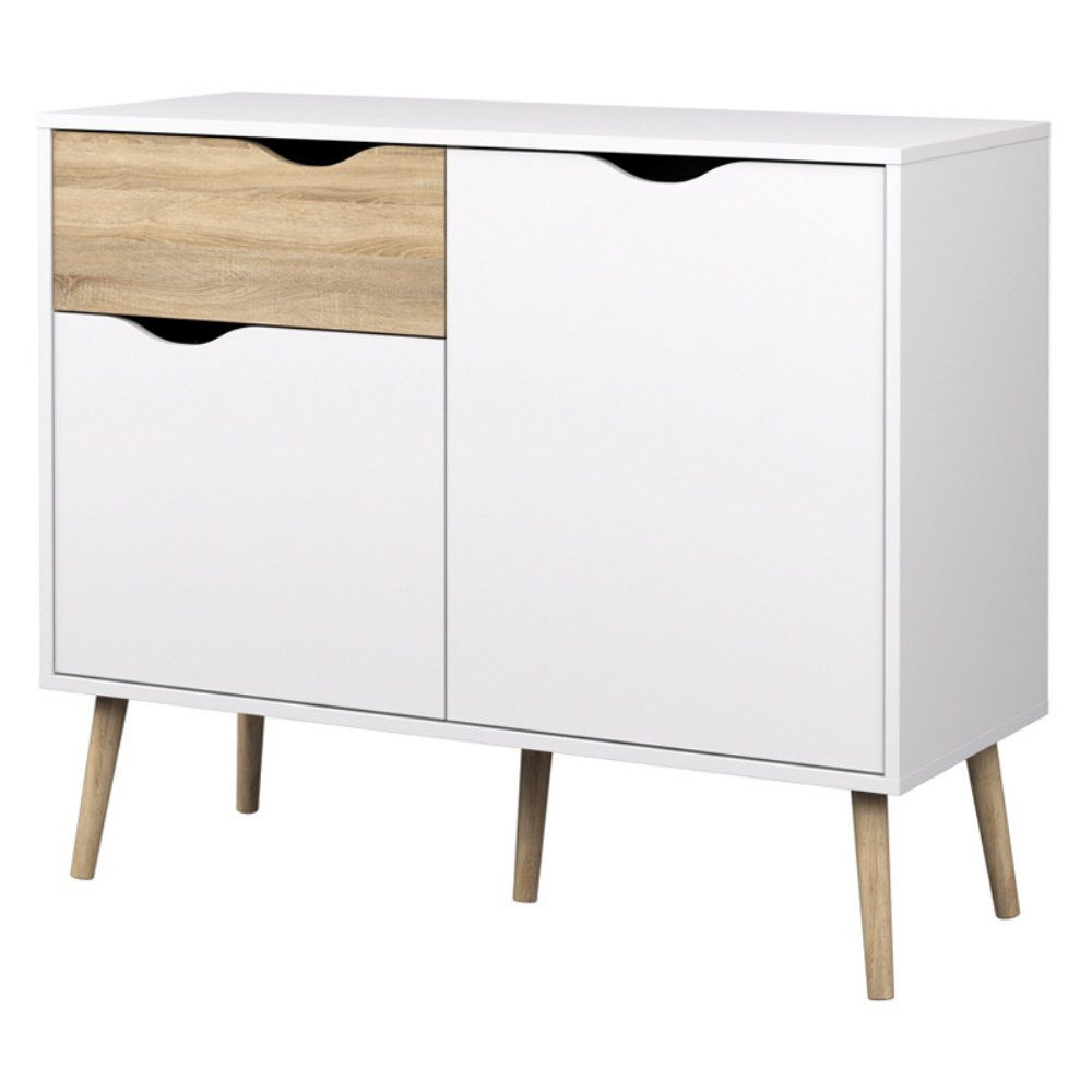 Tvilum Delta Diana Sideboard With 2 Doors And 1 Drawer In Dowler 2 Drawer Sideboards (View 9 of 20)