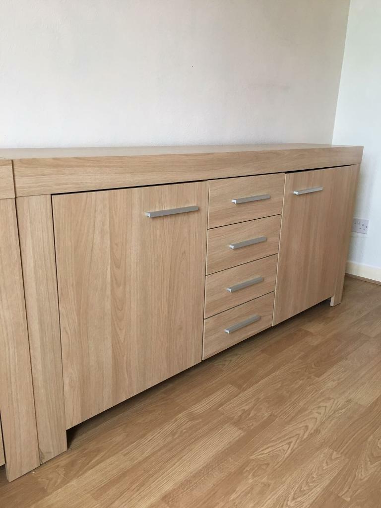 Two Sideboards Oak Effect | In Midsomer Norton, Somerset Intended For Norton Sideboards (View 11 of 20)