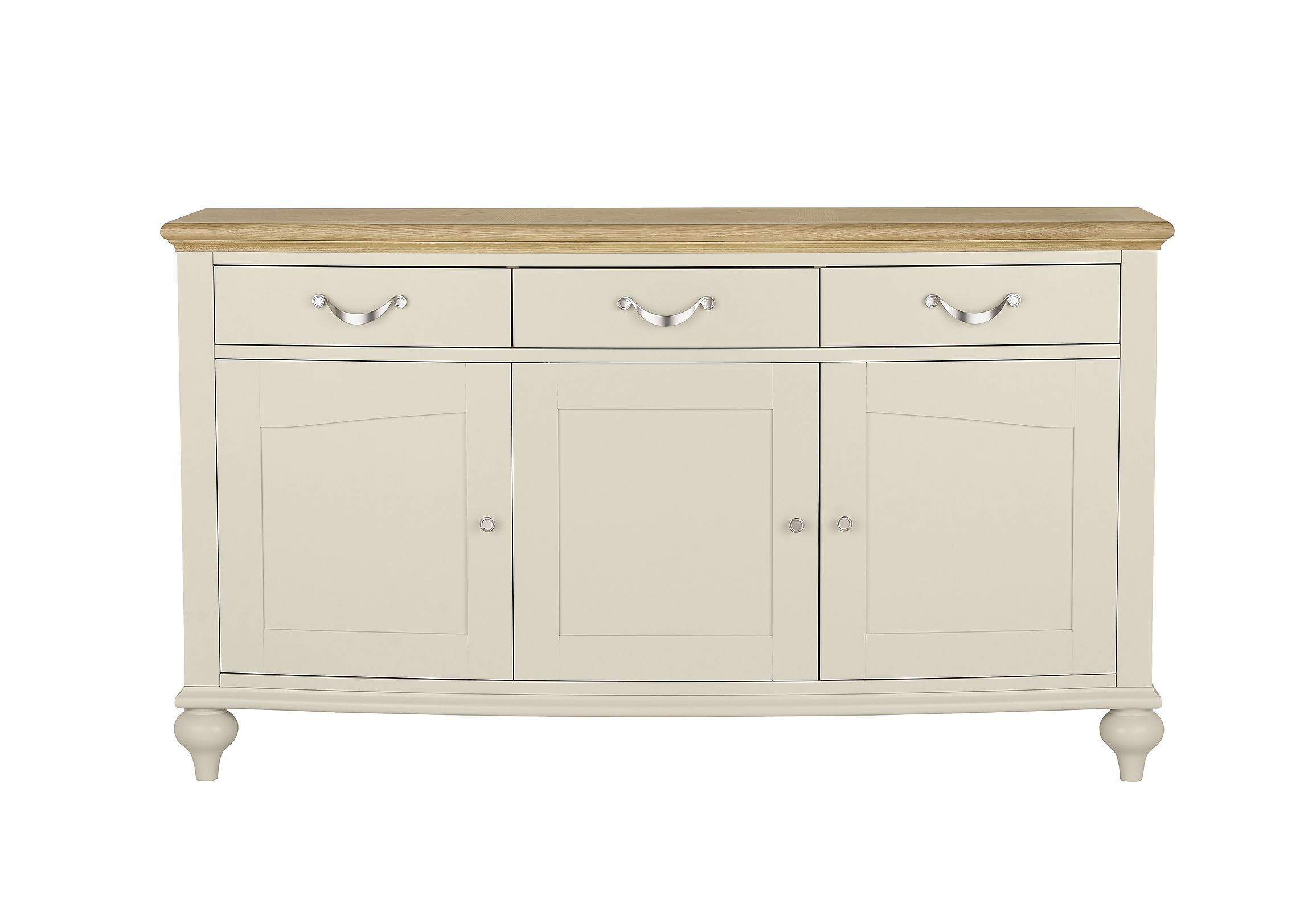 Two Tone Wide Sideboard (View 12 of 20)