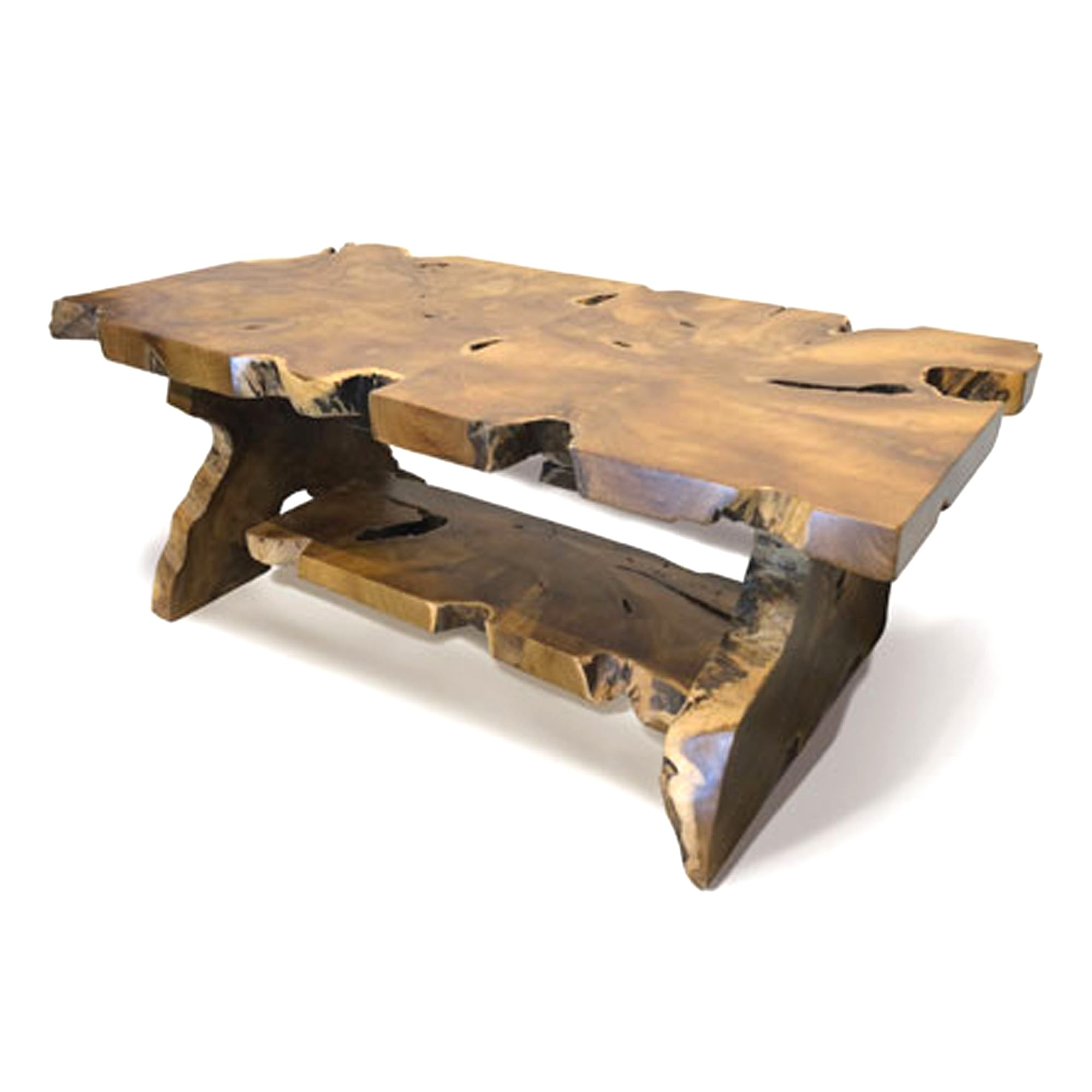 Unlimited Driftwood Coffee Table Teak Root Rectangular With For Current Carbon Loft Witten Angle Iron And Driftwood Coffee Tables (View 15 of 20)