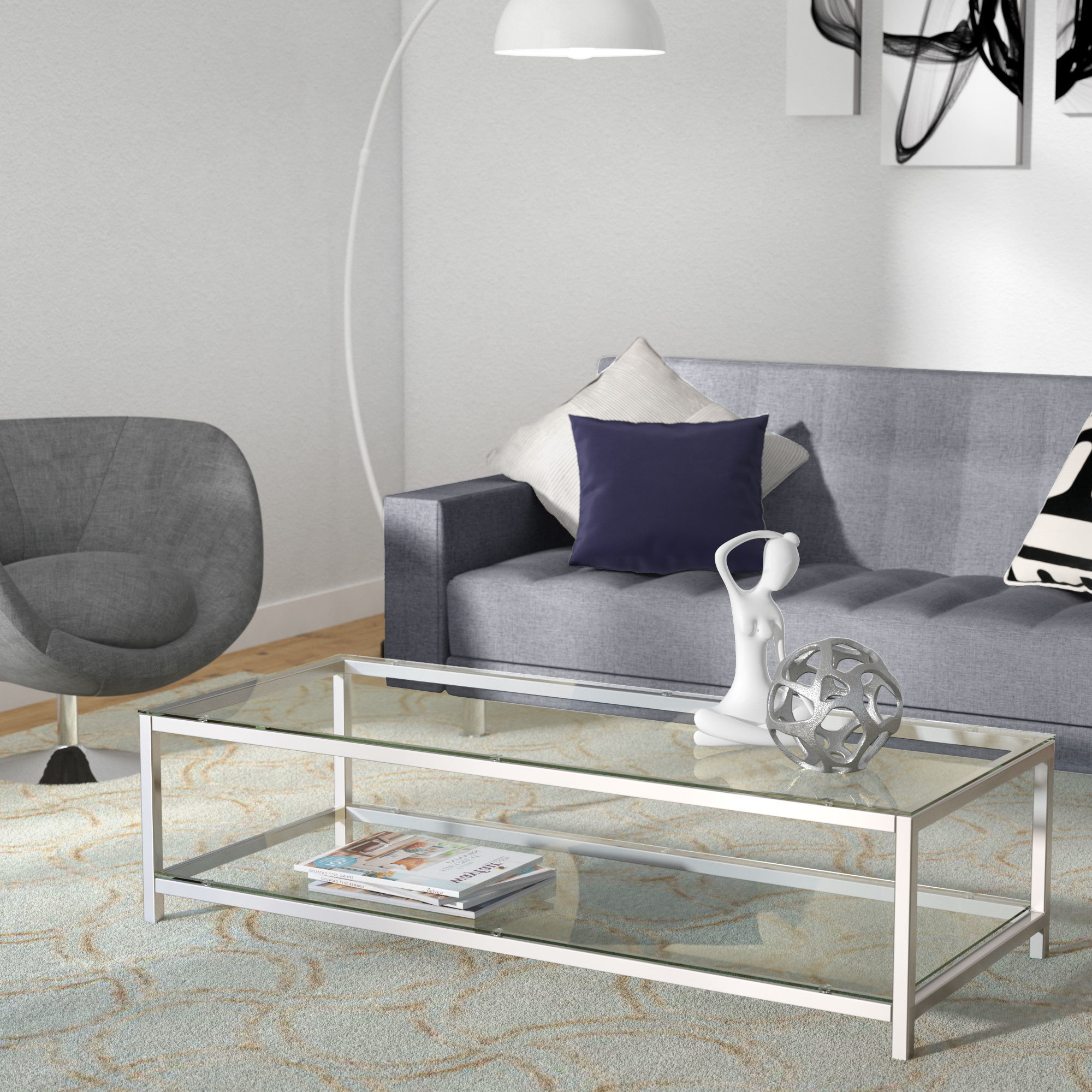 Wayfair For Most Up To Date Jessa Rustic Country 54 Inch Coffee Tables (View 19 of 20)
