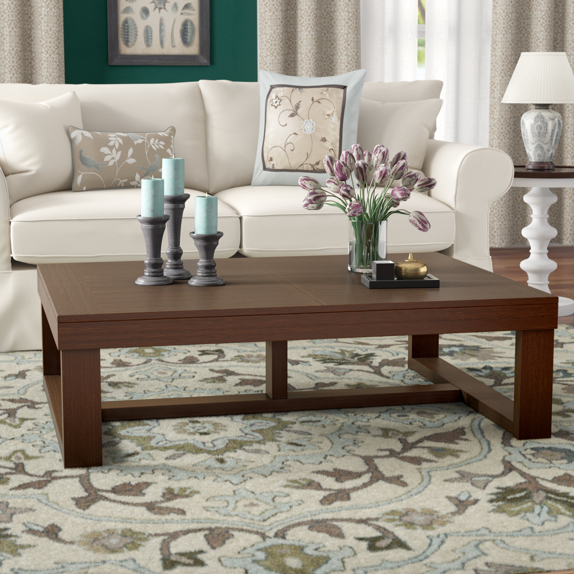 Wayfair In Newest Jessa Rustic Country 54 Inch Coffee Tables (View 15 of 20)