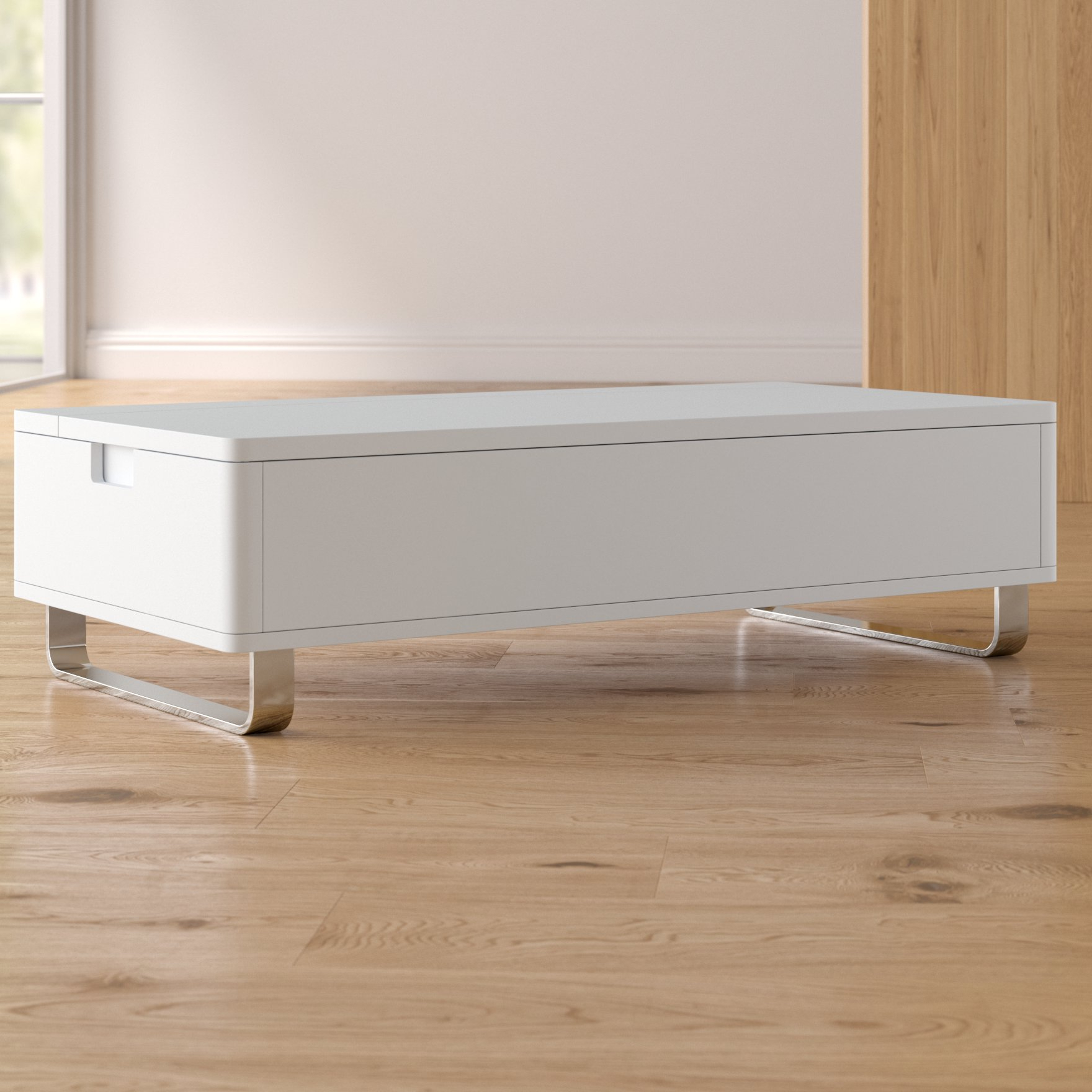 Wayfair Intended For Well Known Strick & Bolton Sylvia Geometric High Gloss Coffee Tables (View 17 of 20)