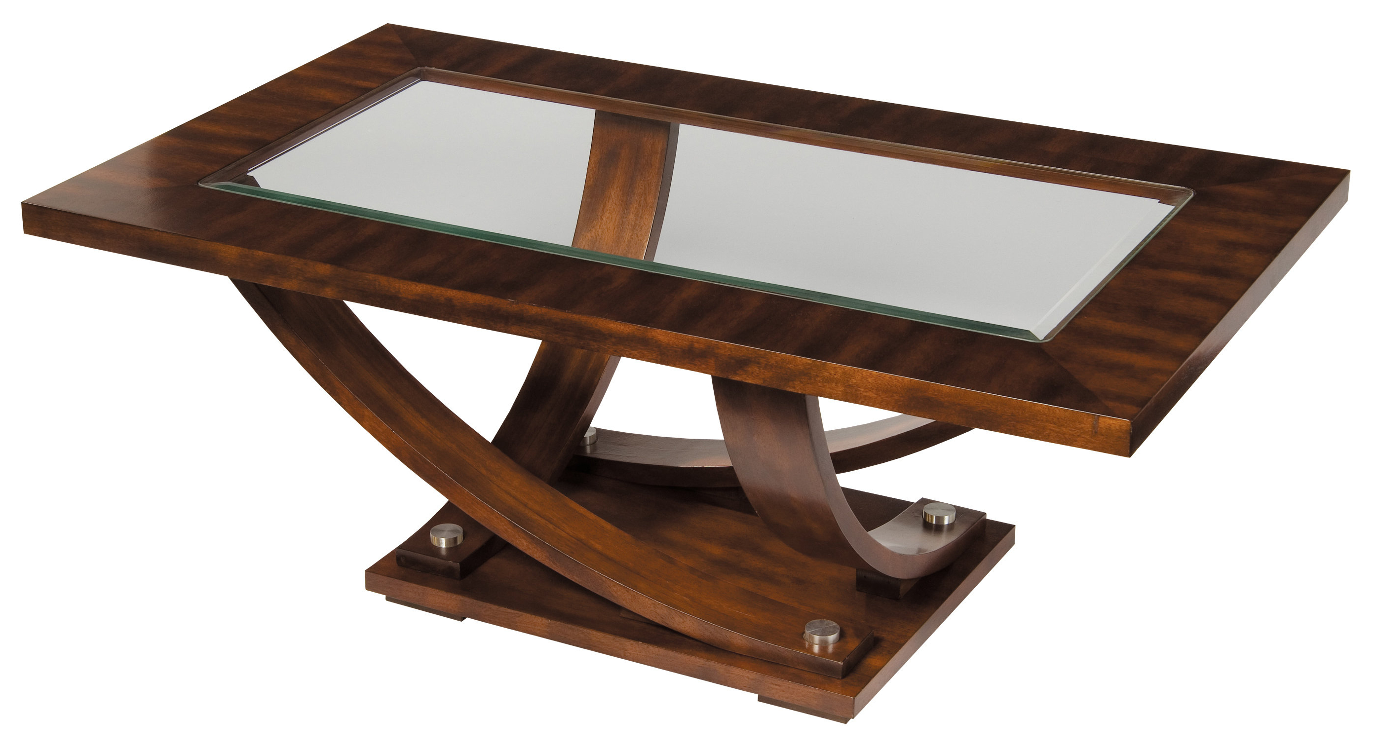 Wayfair Within Most Popular Madison Park Avalon White Pecan Coffee Tables (View 17 of 20)