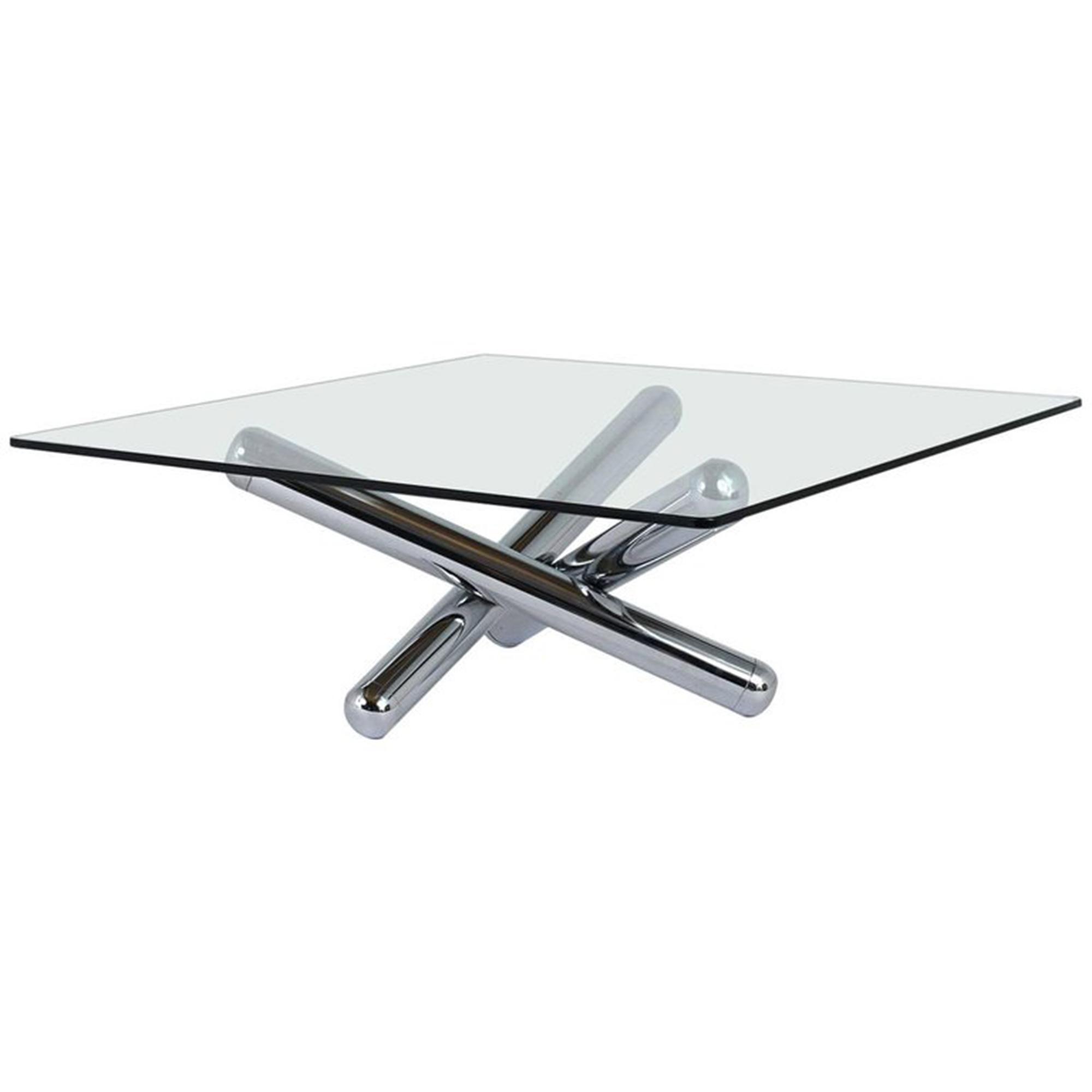 Well Known Finbar Modern Rectangle Glass Coffee Tables In Modrest Tide Modern Glass Coffee Table Dreamlivingscom (View 19 of 20)