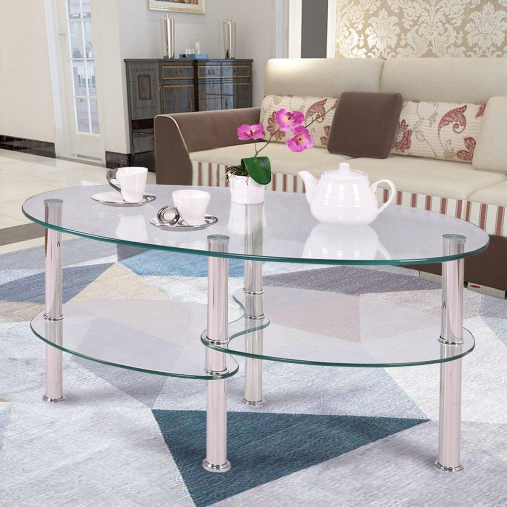 Well Known Furniture Of America Crescent Dark Cherry Glass Top Oval Coffee Tables Intended For Coffe Table ~ Furniture Of America Crescent Dark Cherry (View 19 of 20)