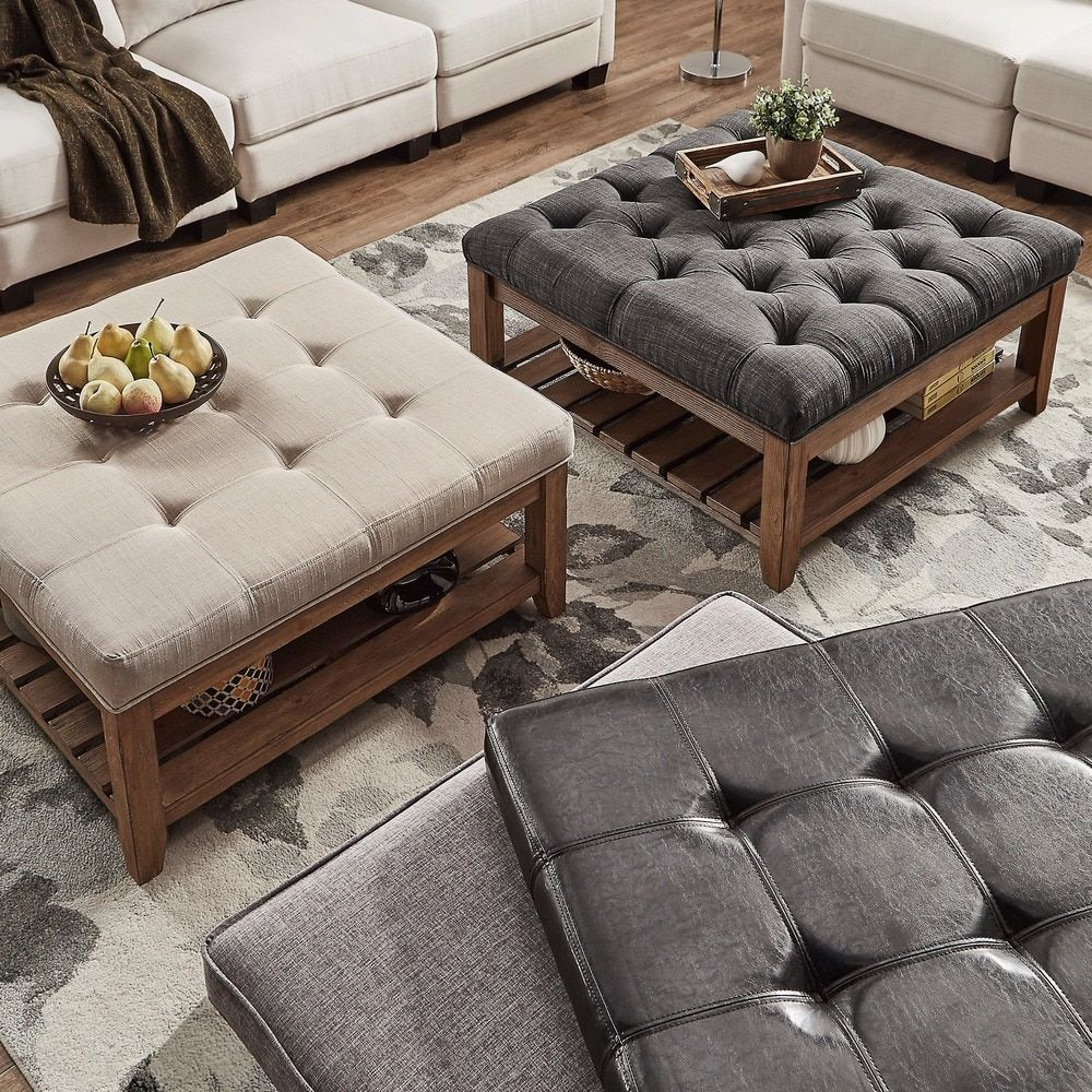 Well Known Lennon Pine Planked Storage Ottoman Coffee Tables Intended For Lennon Pine Planked Storage Ottoman Coffee Tabletribecca (View 5 of 20)
