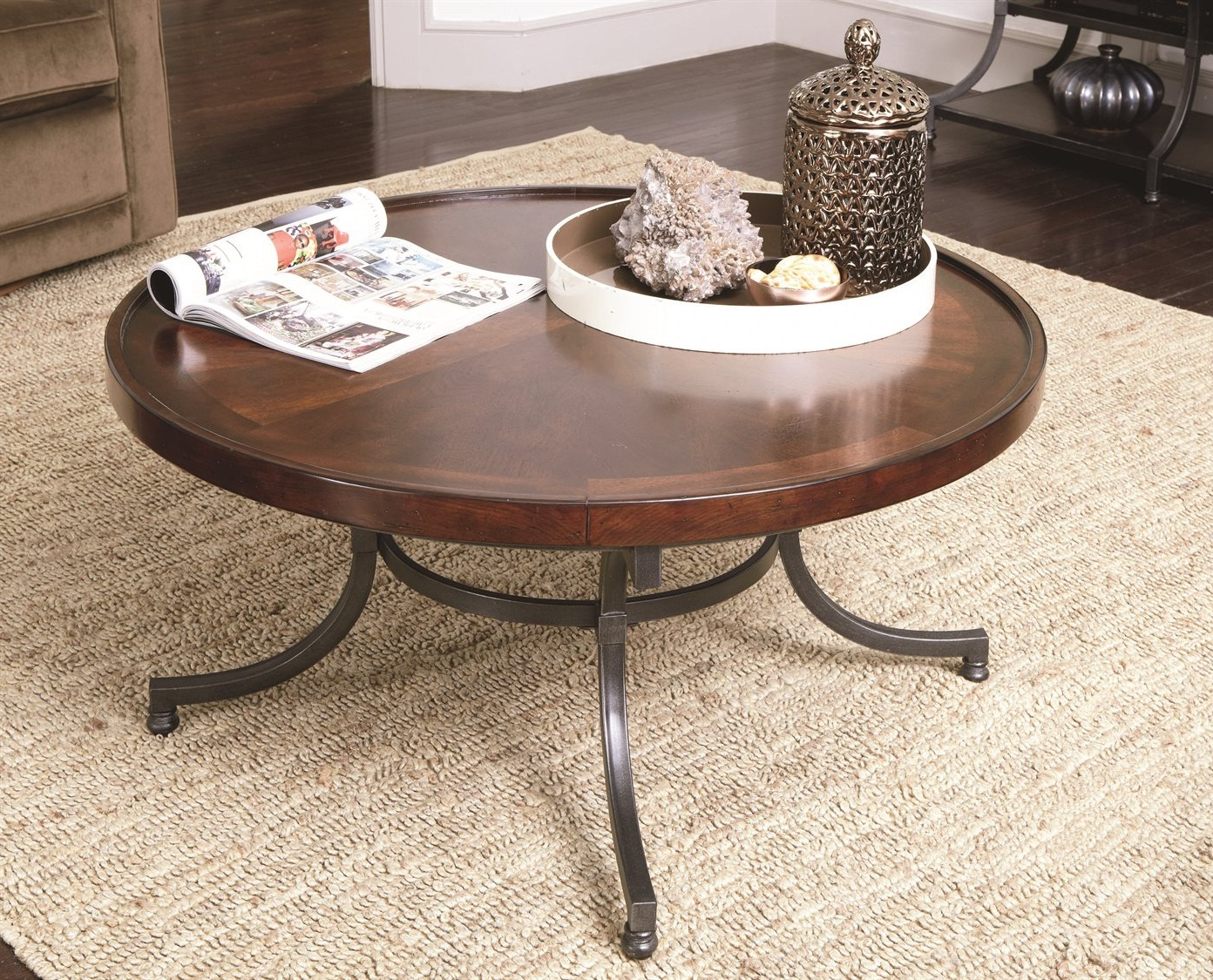 Well Known Paris Natural Wood And Iron 30 Inch Square Coffee Tables For 57 30 Inch Square Coffee Table, Avenue Six Merge Black (View 11 of 20)