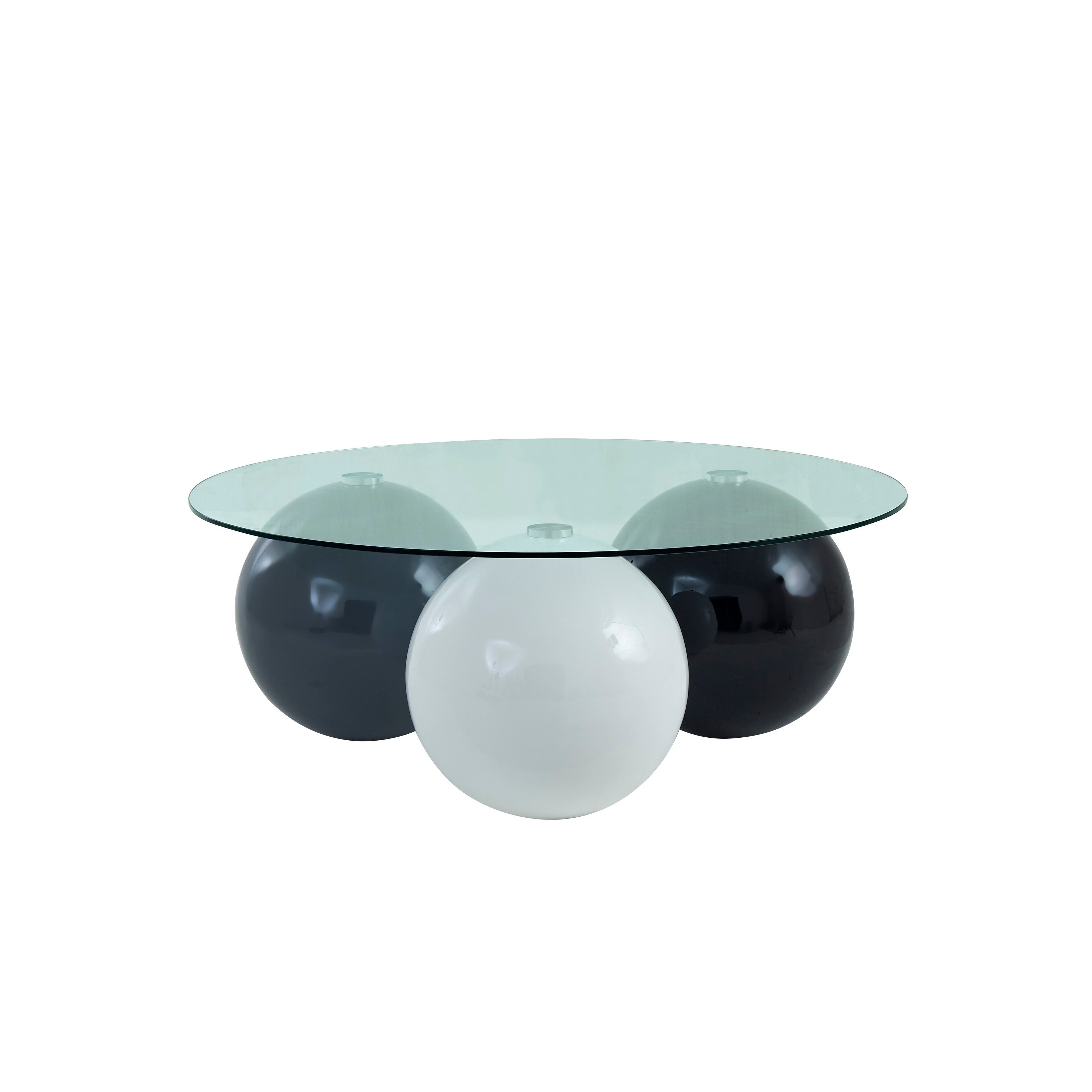Well Known Strick & Bolton Sylvia Geometric High Gloss Coffee Tables With Coffee Table : Global Furniture Usa Grey White And Black (View 14 of 20)