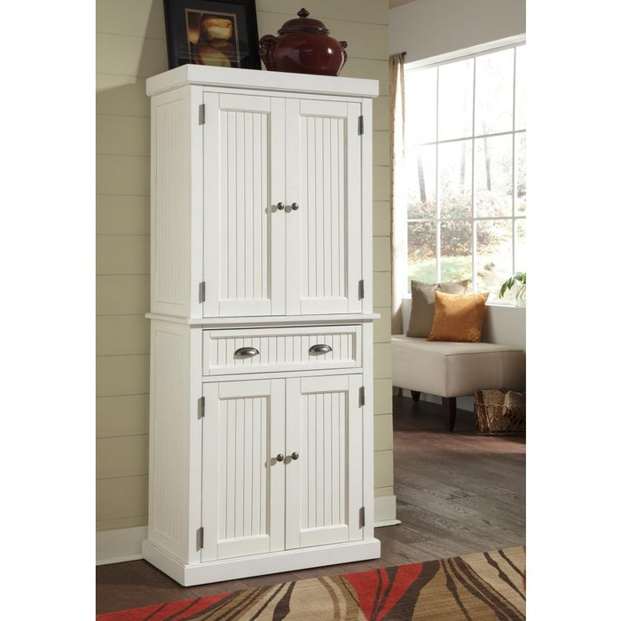"""Well Liked Hollo Kitchen Pantry With Rabin 72"""" Kitchen Pantry (View 9 of 20)"""