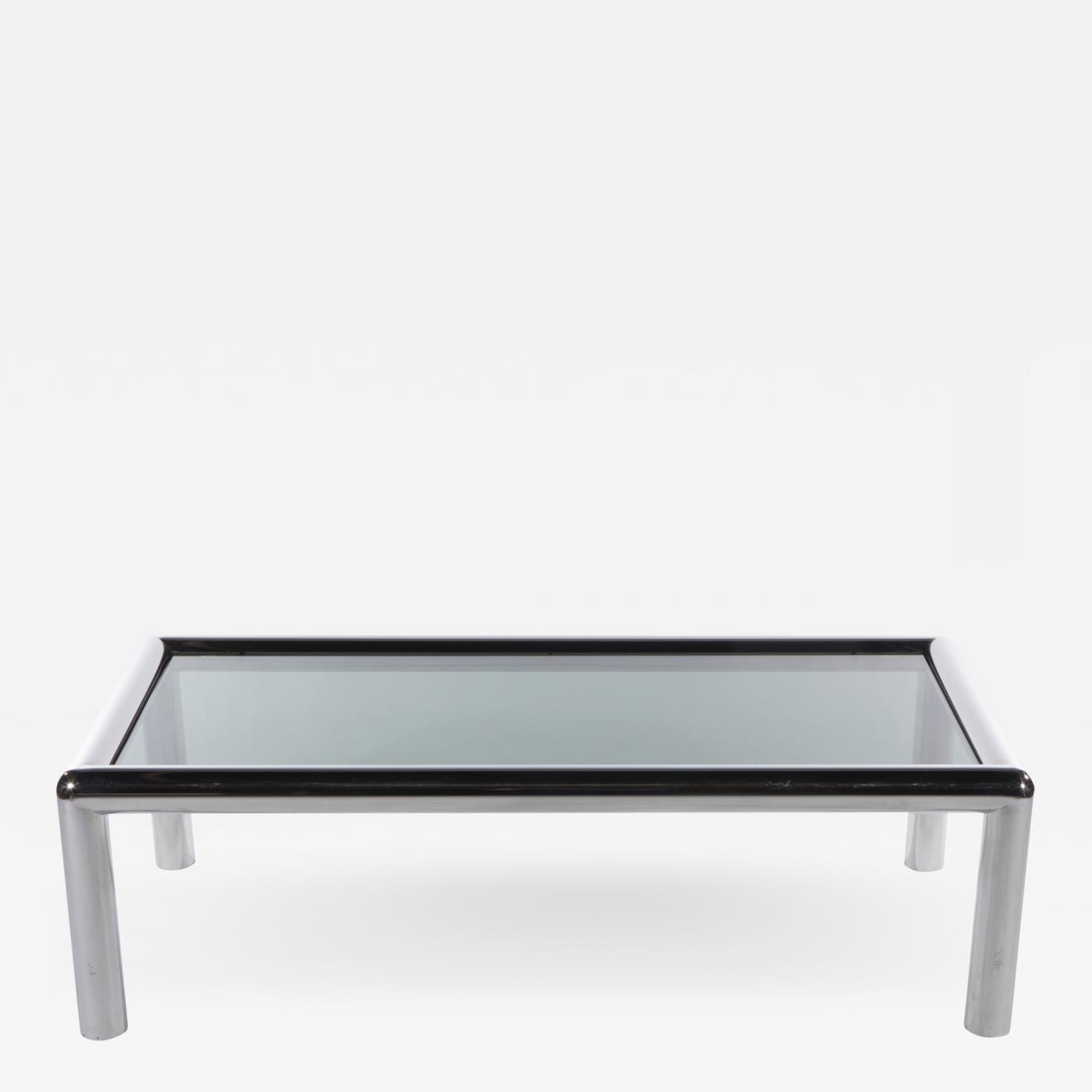 """Well Liked Lockwood Rectangle Coffee Tables Within John Mascheroni – John Mascheroni Rectangular """"tubo"""" Coffee Table, Circa  1960S (View 20 of 20)"""