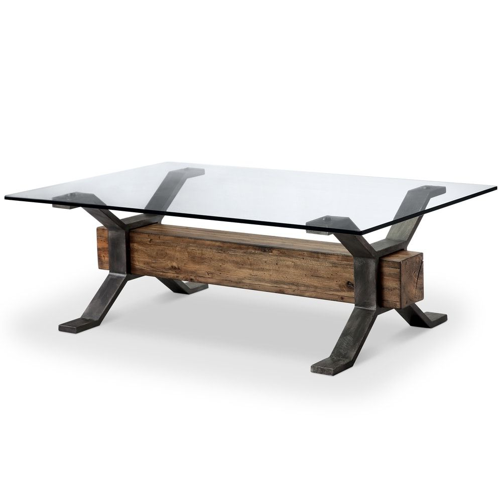 Featured Photo of Sawyer Industrial Reclaimed Rectangular Cocktail Tables