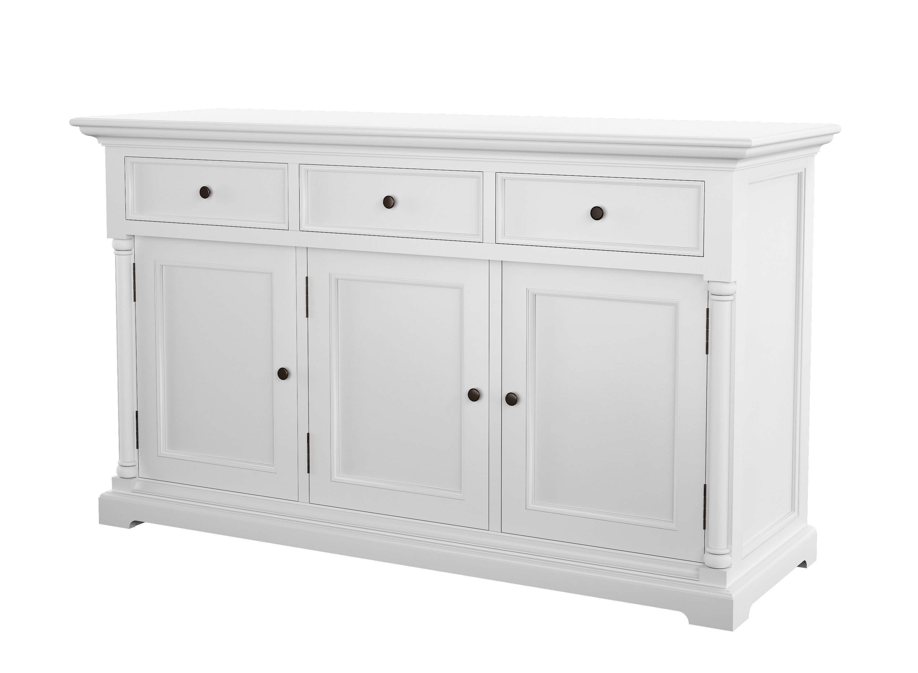 Westmont Classic Buffet Table With Regard To Baleine 3 Drawer Sideboards (View 19 of 20)
