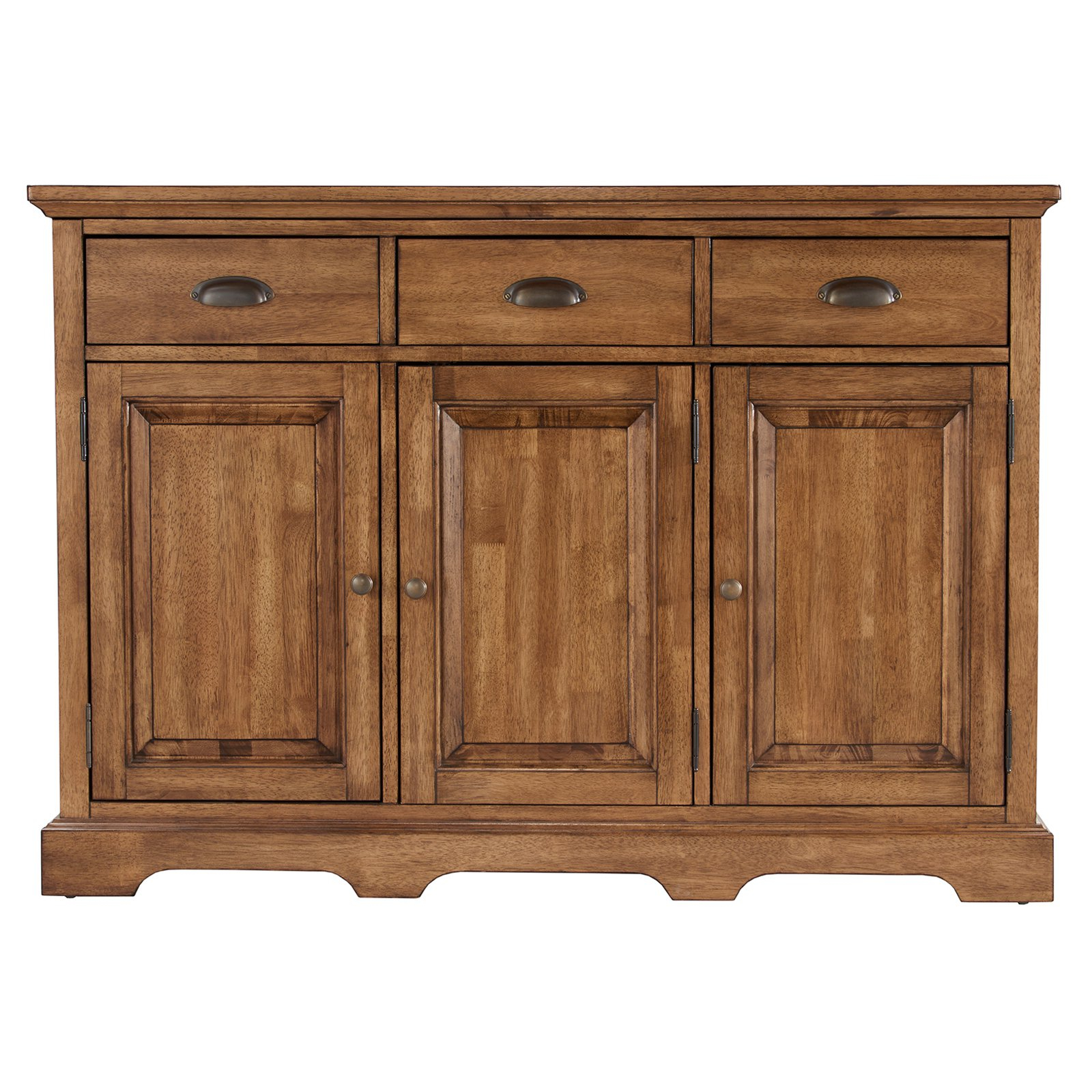 Weston Home 3 Door Server In 2019 | Products | Wood Cabinets In Courtdale Sideboards (View 18 of 20)