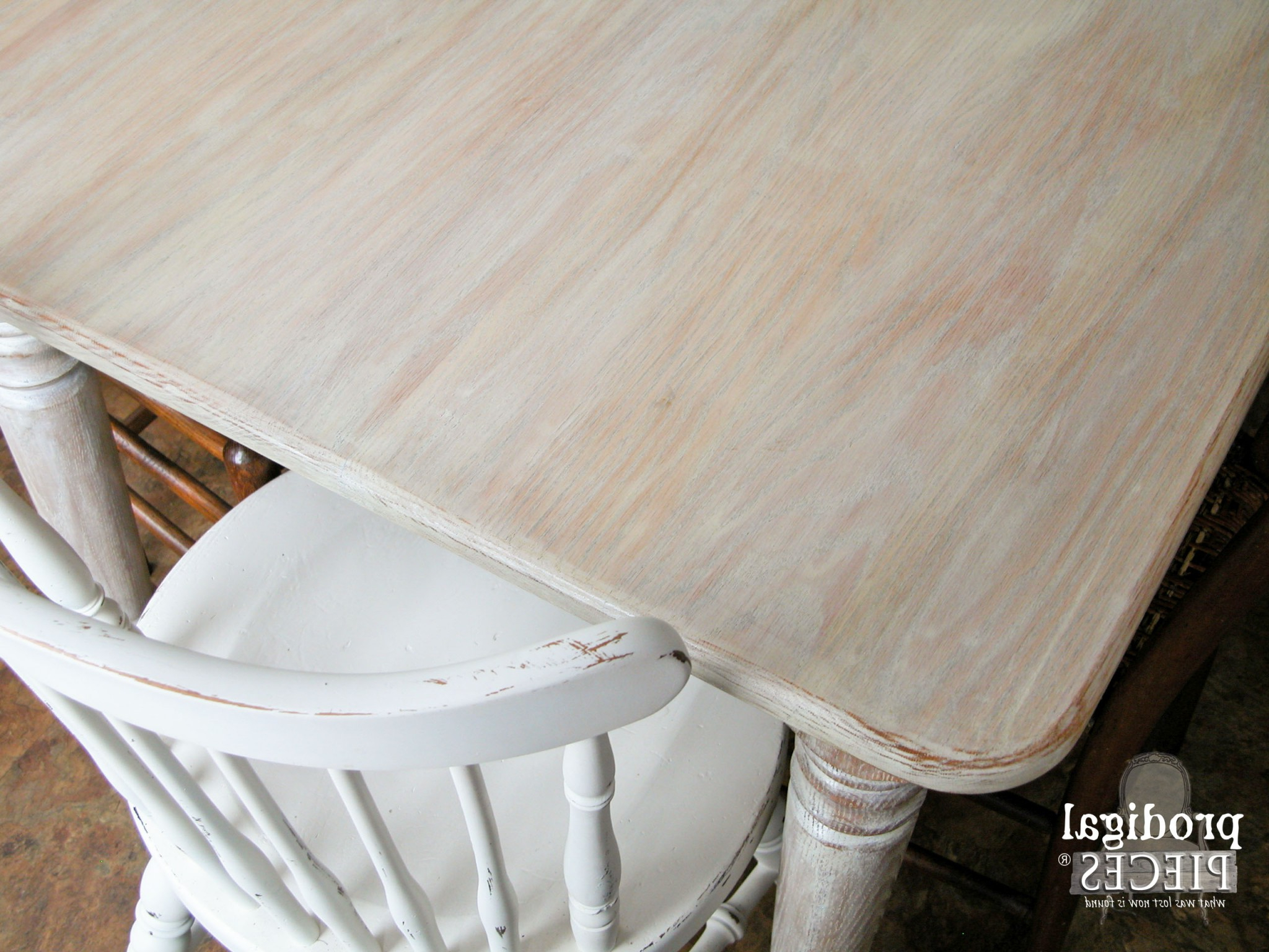 Whitewashed (Or Limewashed) Wood – Prodigal Pieces Intended For Most Recent Handmade Whitewashed Stripped Wood Tables (View 17 of 20)