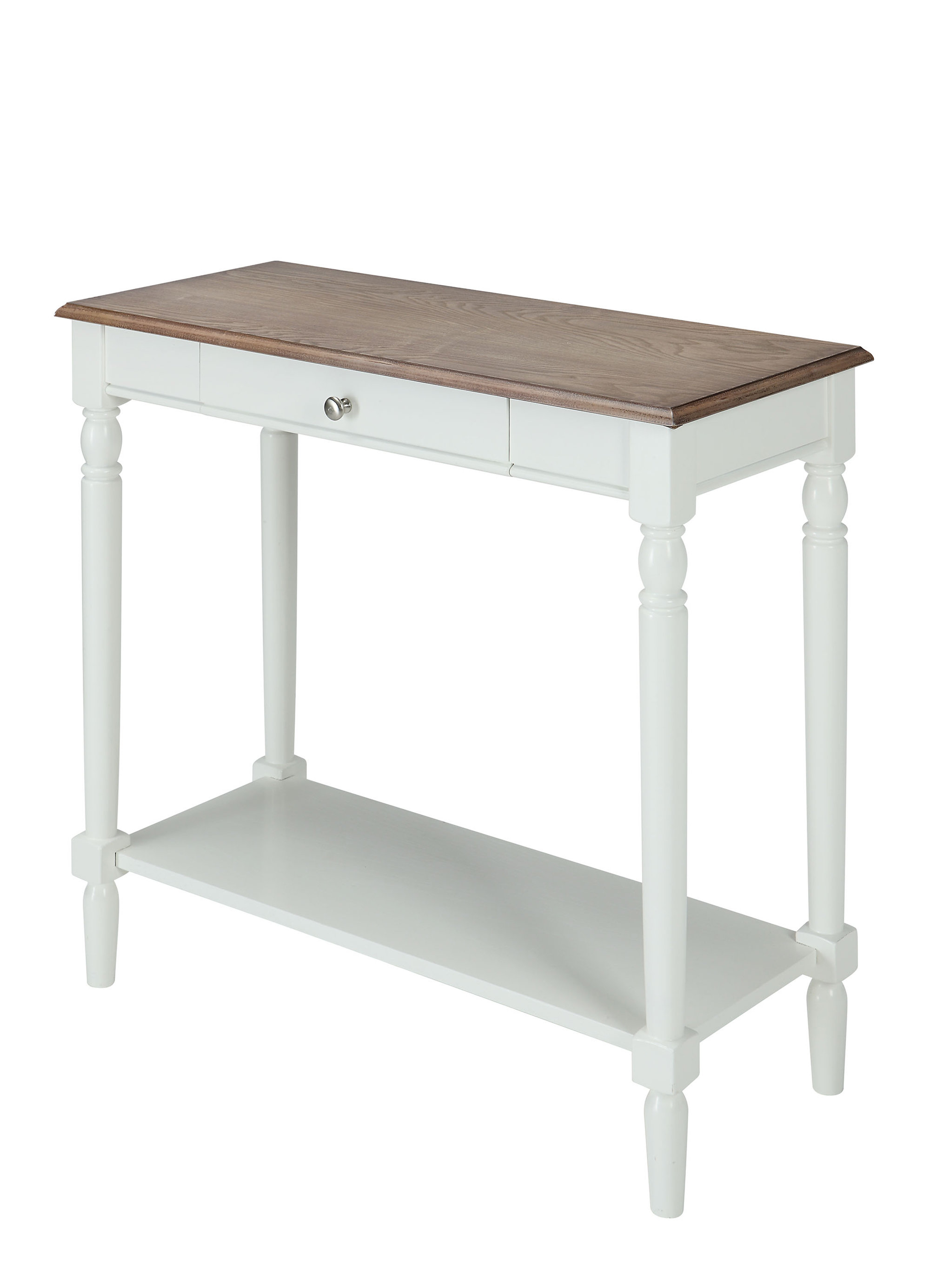 Widely Used Arella Ii Modern Distressed Grey White Coffee Tables Pertaining To Ariella Console Table (View 9 of 20)