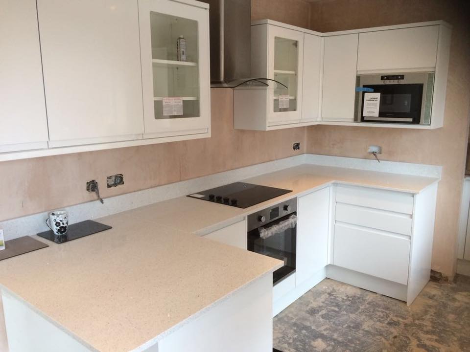 Widely Used Gatley Kitchen Pantry With Regard To Kitchen Refurbishment Springhead Oldham – Final Fix Ltd (View 20 of 20)