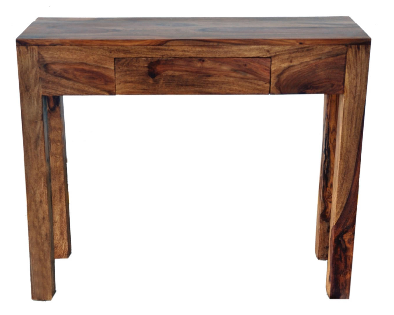 Widely Used Idris Dark Sheesham Solid Wood Coffee Tables Within Nspire Idris Console Table (dark Sheesham) – Disc 502 814ds (View 12 of 20)