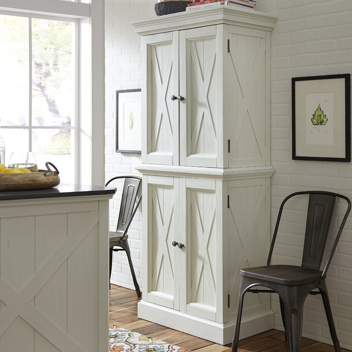 """Widely Used Moravia 72"""" Kitchen Pantry Intended For Rabin Kitchen Pantry (View 19 of 20)"""