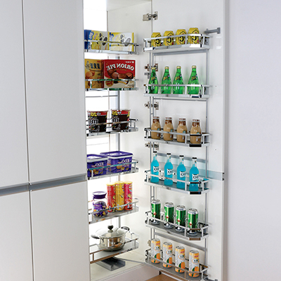 Widely Used Pull Out, Open Out & Slide Out Pantry Organisers (View 20 of 20)