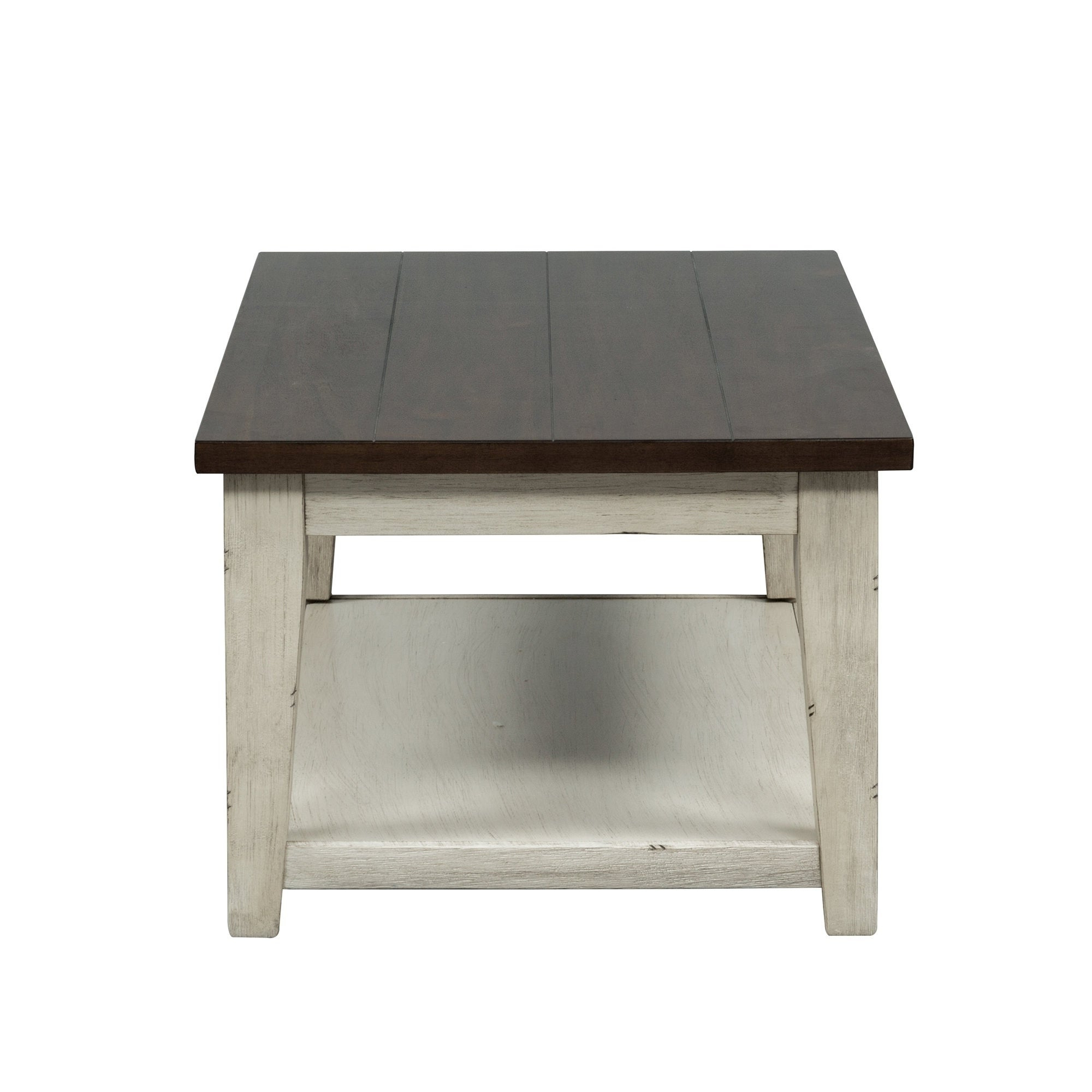Widely Used The Gray Barn O'quinn Weathered Bark And White Castered Cocktail Tables Regarding The Gray Barn O'quinn Weathered Bark And White Castered Cocktail Table (View 3 of 20)