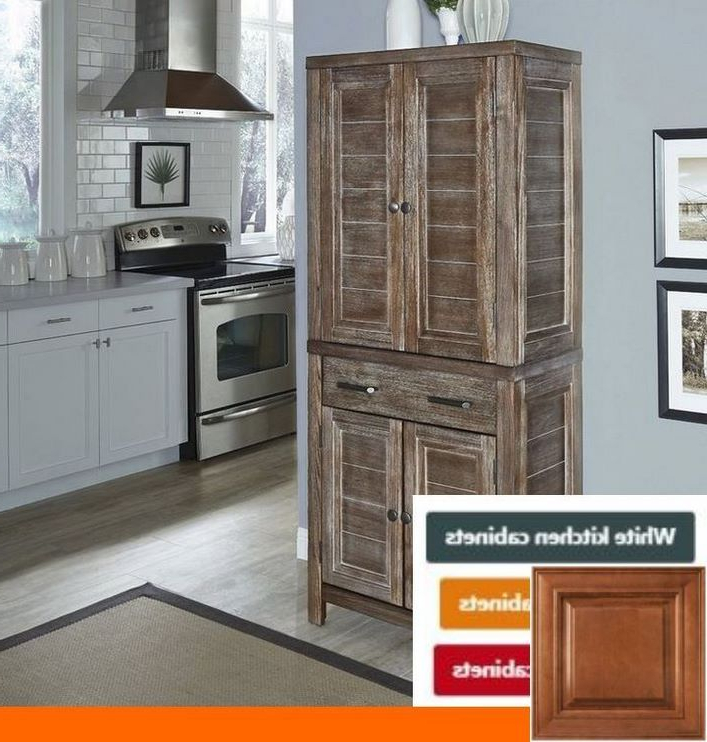 Widely Used The Top 3 Reasons – Golden Oak Cabinets With Dark Floors With Ferryhill Kitchen Pantry (View 15 of 20)