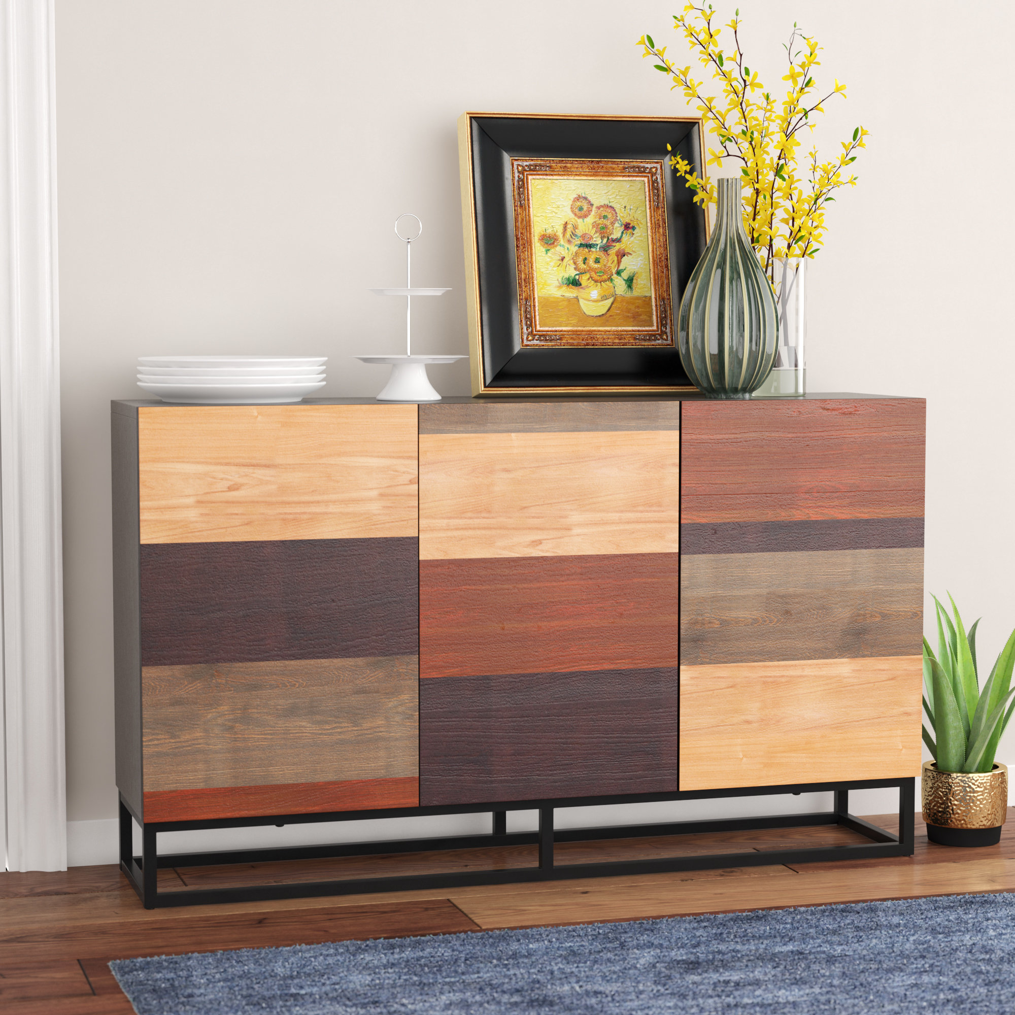 Winston Porter Remington Sideboard & Reviews | Wayfair Regarding Remington Sideboards (View 2 of 20)