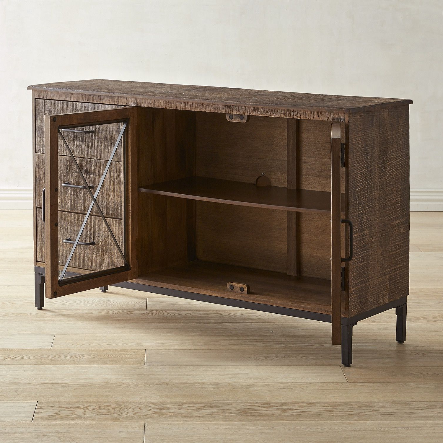 """Wyatt 50"""" Tv Stand Brown 