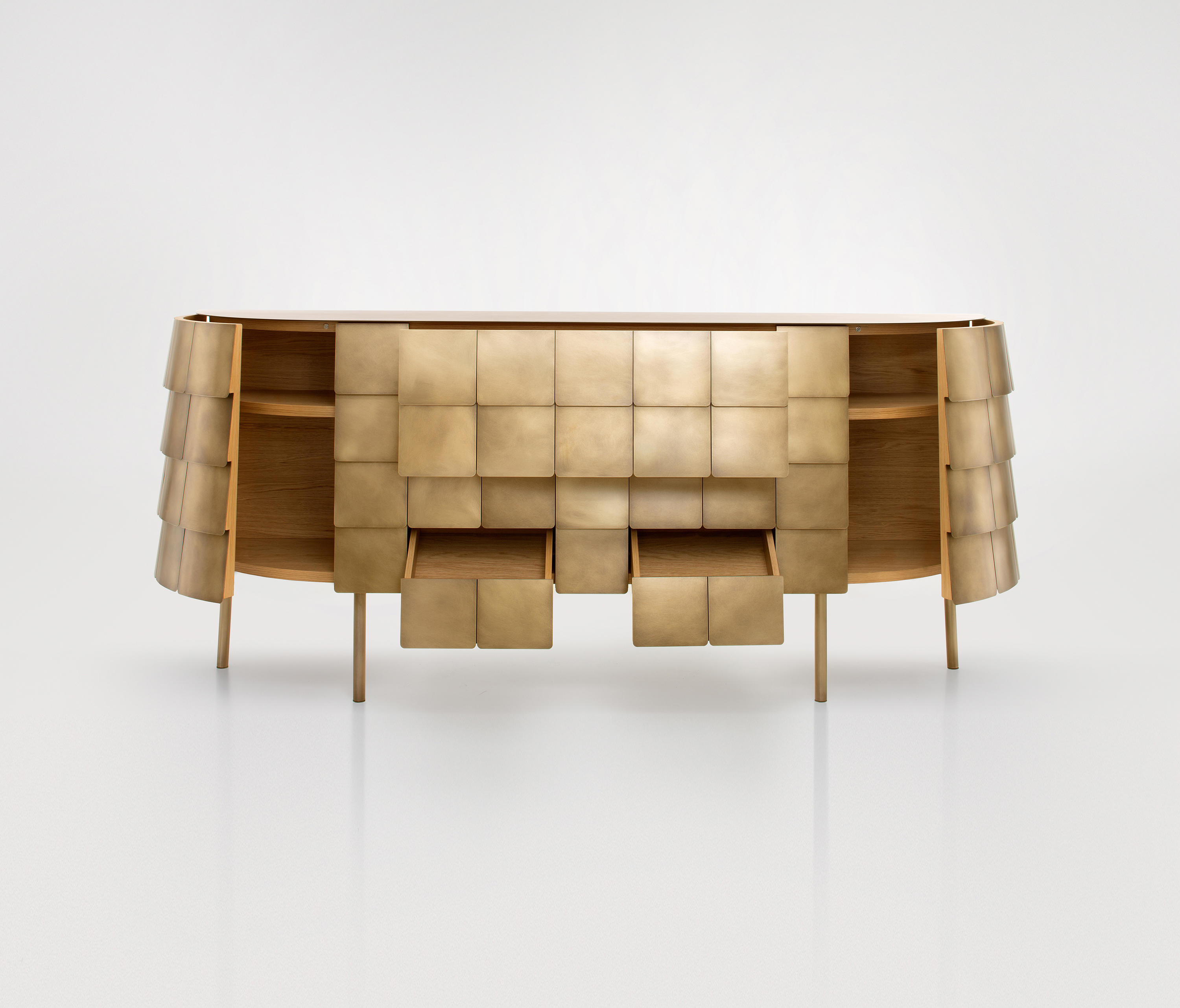 Yoroi – Sideboards From De Castelli | Architonic Regarding Castelli Sideboards (View 7 of 20)