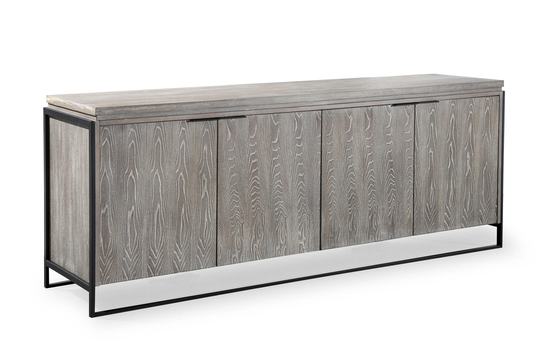 Zybert Sideboard In Steinhatchee Reclaimed Pine 4 Door Sideboards (View 16 of 20)