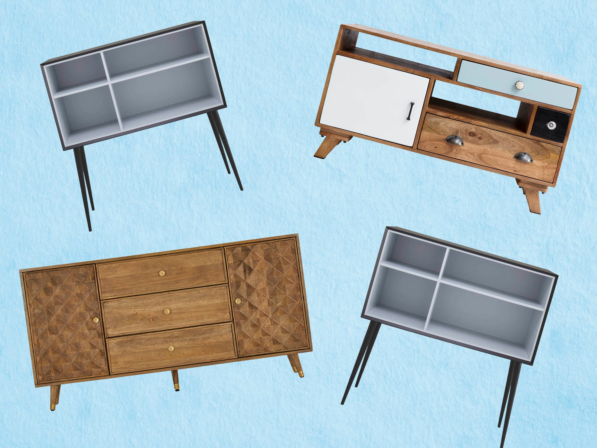 10 Best Sideboards | The Independent Throughout Mid Century Retro Modern Oak And Espresso Wood Buffets (View 1 of 20)