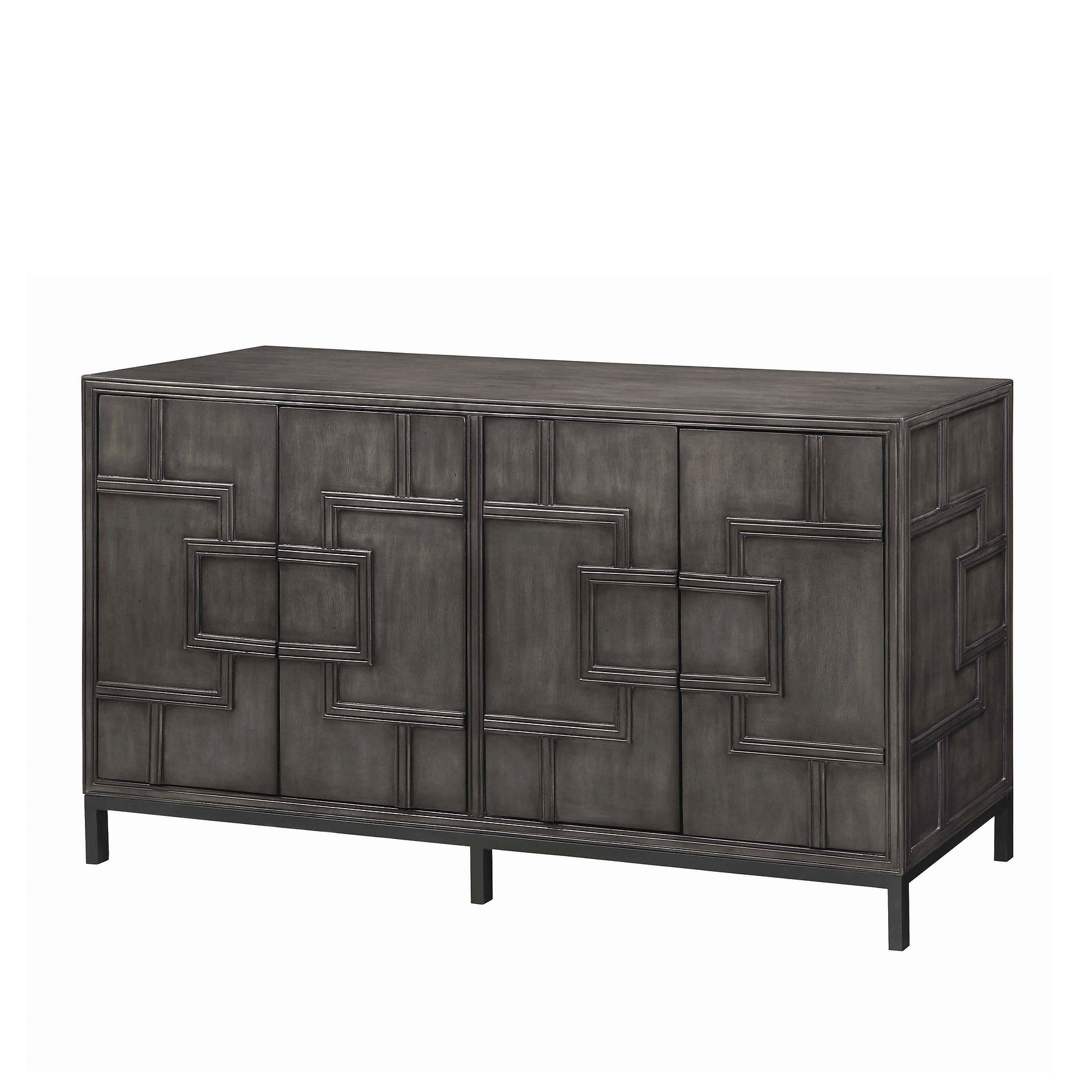 13613 Credenza With Geometric Shapes Credenzas (View 7 of 20)