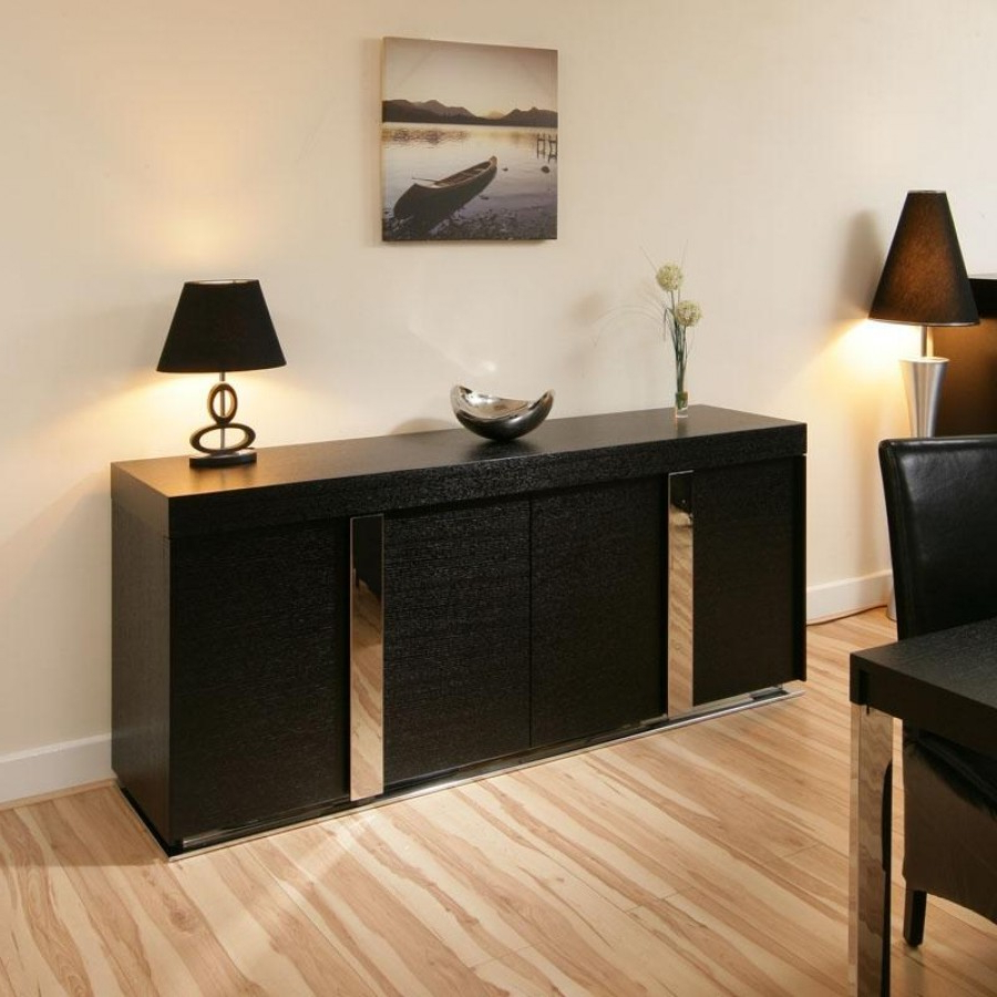 19 Sideboard Cabinet Buffet, Modern Sideboards And Buffets Regarding Modern Black Storage Buffets (View 2 of 20)