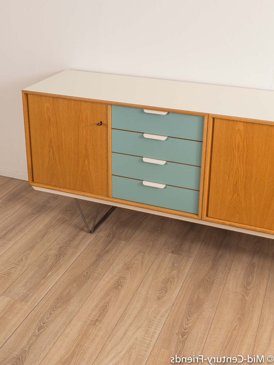 1960Er Jahre Sideboard, Heinrich Riestenpatt|Mid Century Friends Within Mid Century Brown And Grey Sideboards (View 1 of 20)