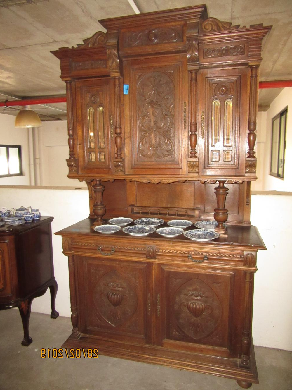 19Thc French Oak Buffet With French Oak Buffets (Gallery 19 of 20)