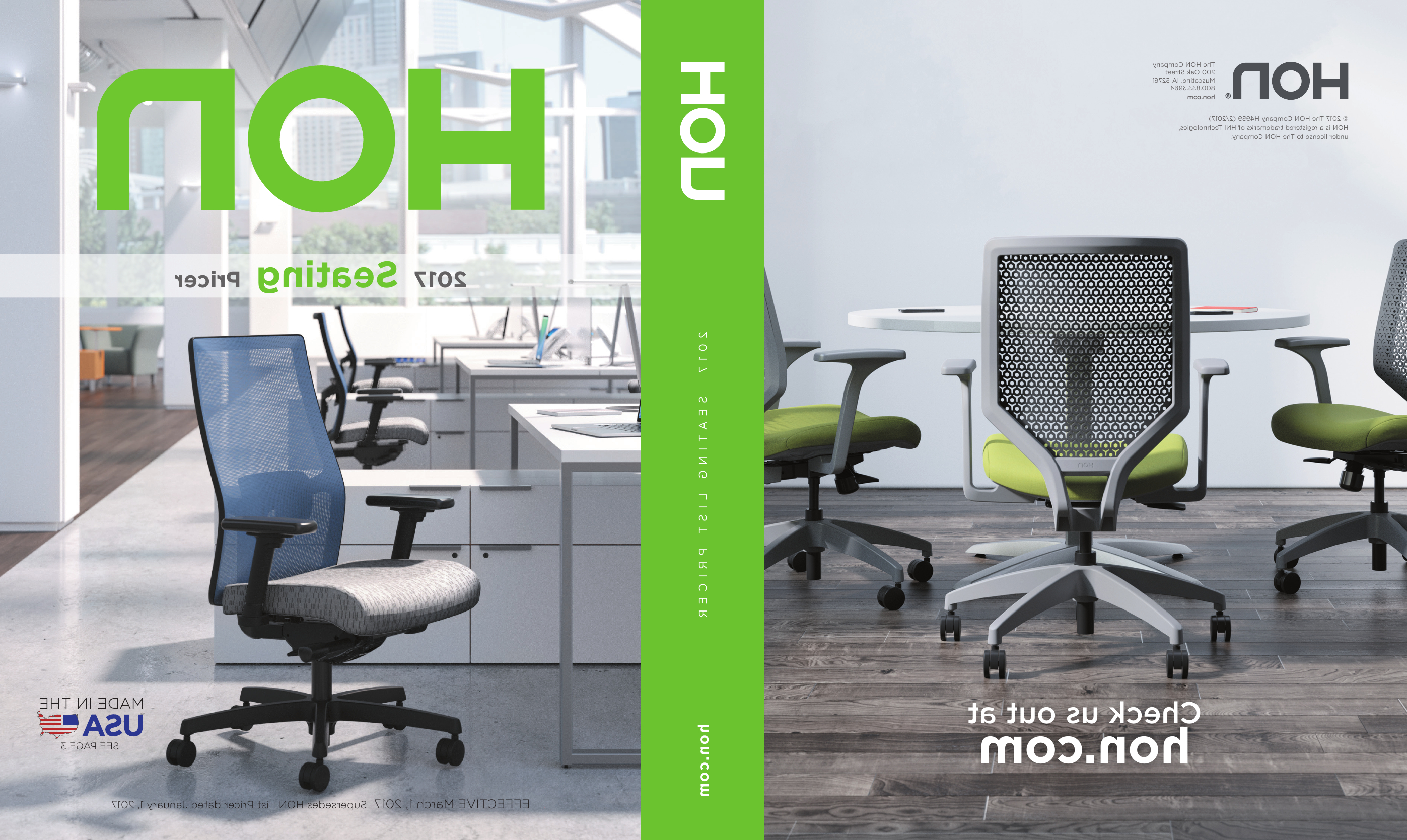 2017 Seating Pricer – Hon Office Furniture | Manualzz Pertaining To Papaya Burst Credenzas (Gallery 15 of 20)