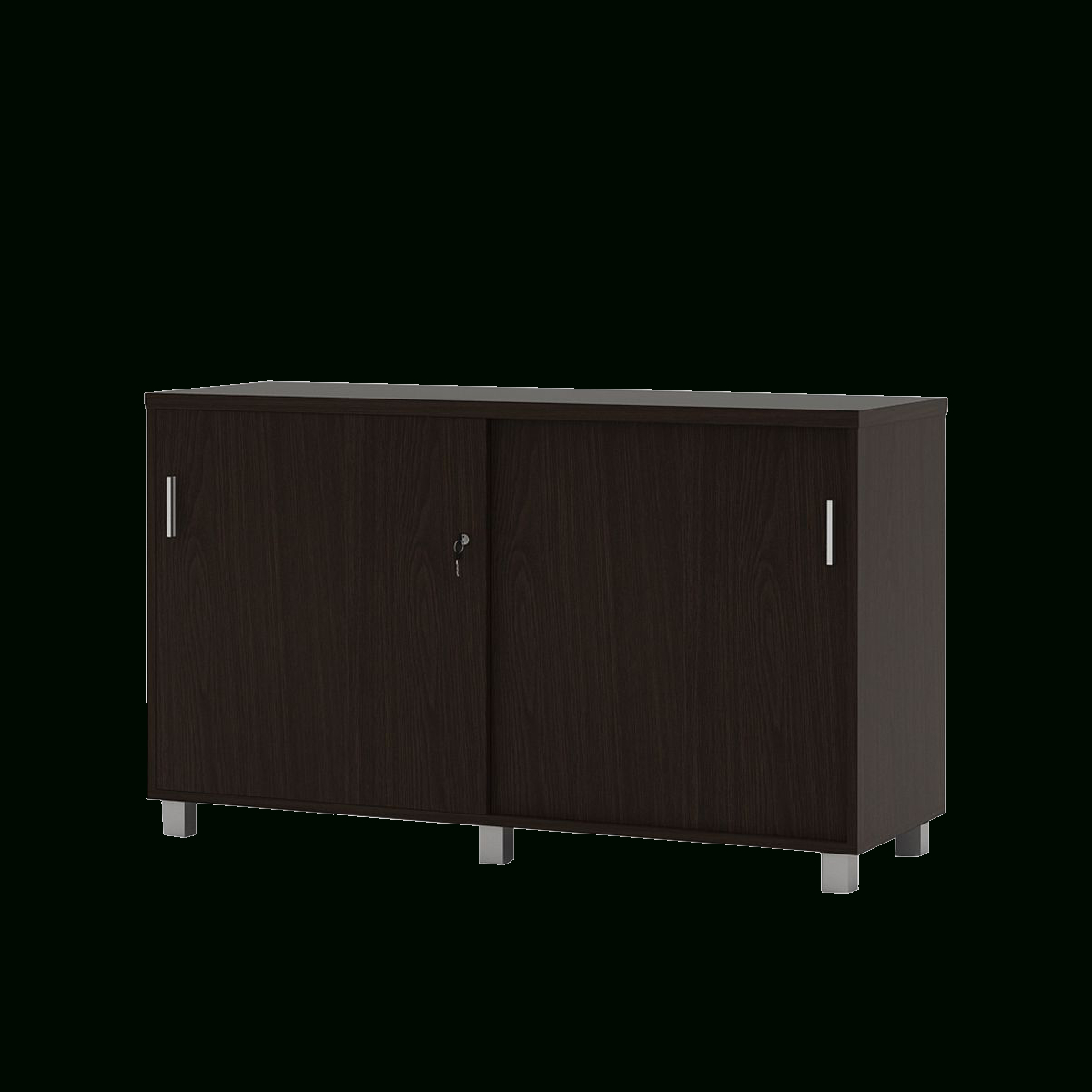 800 Lockable Office Credenza In Colorful Leaves Credenzas (Gallery 19 of 20)