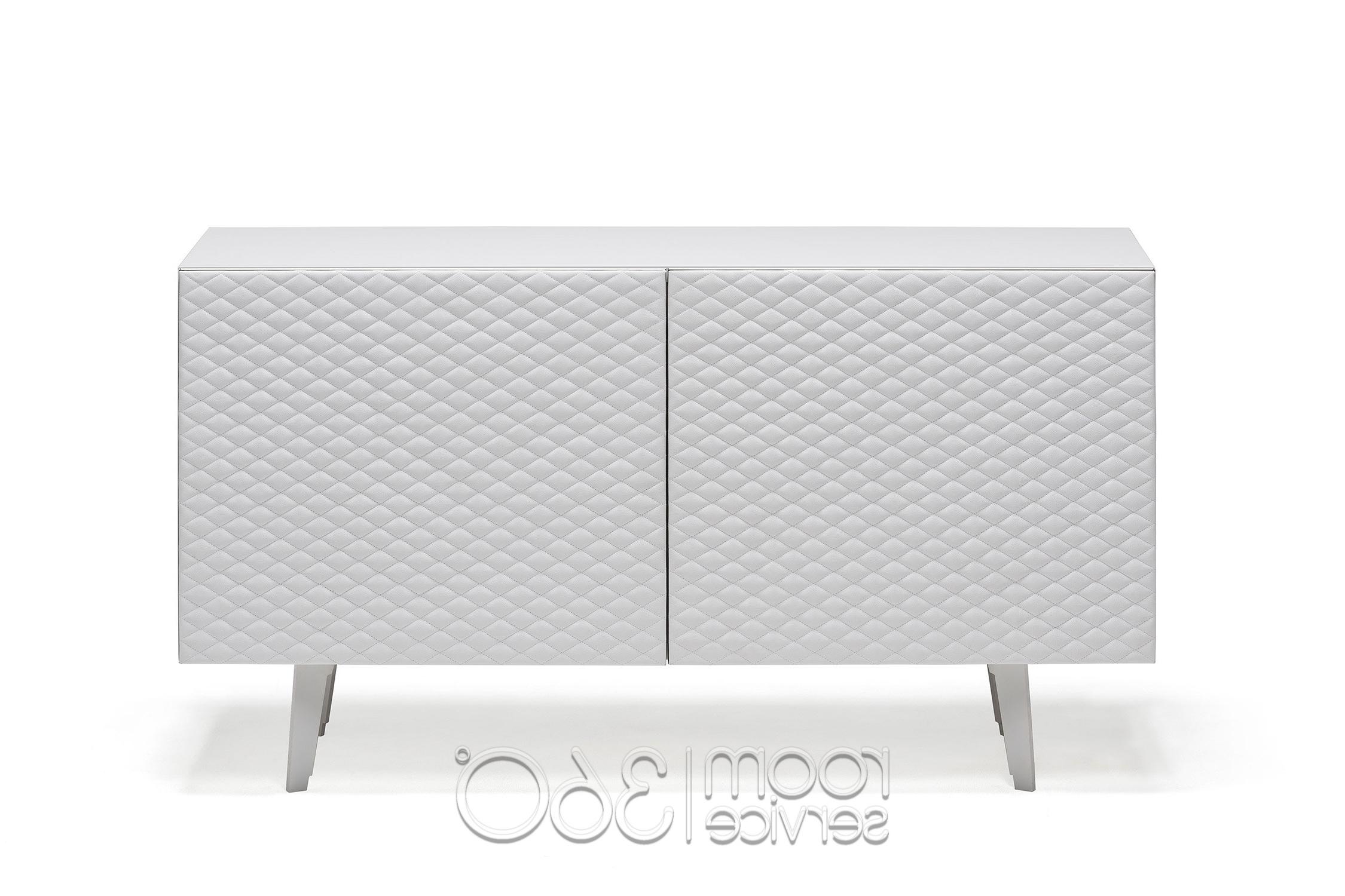 Absolut Leather Sideboardcattelan Italia   Room Service 360° Regarding 3 Drawer Titanium Buffets (View 20 of 20)