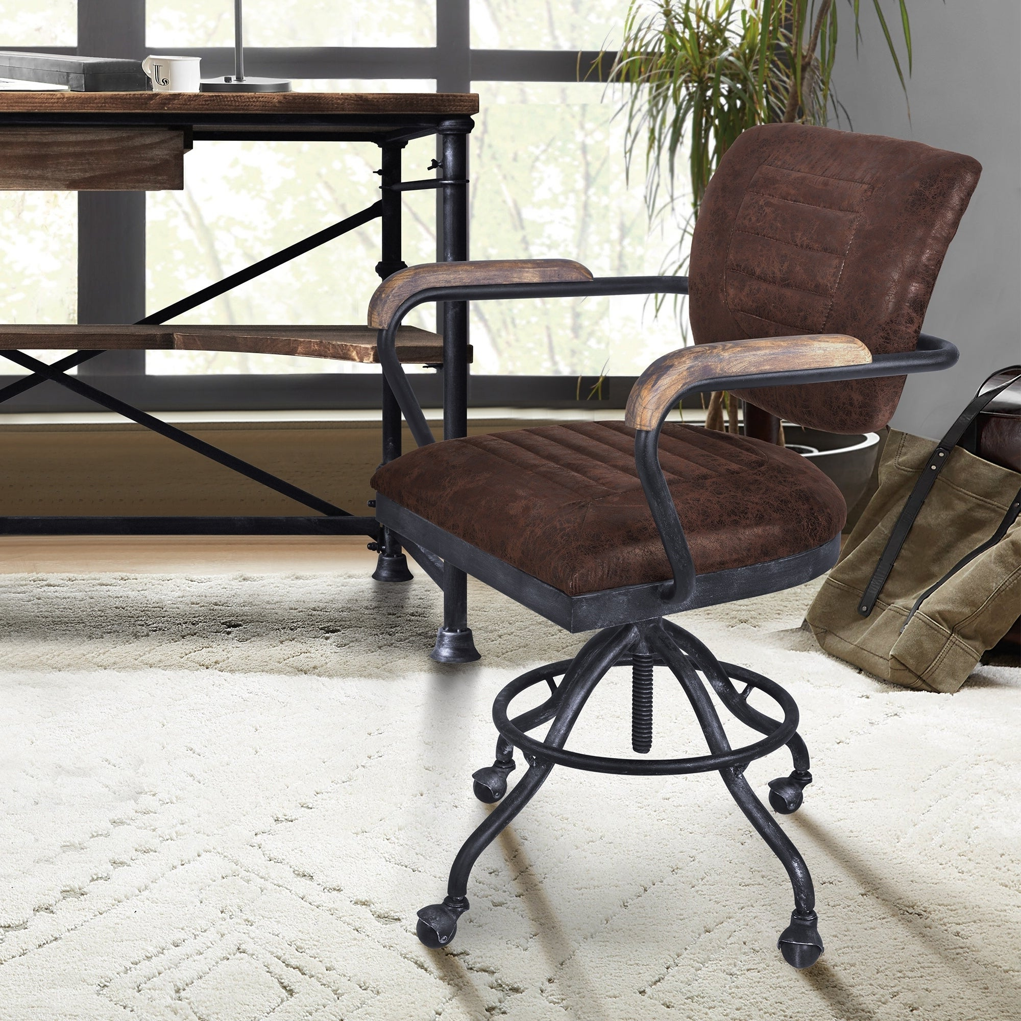 Adjustable Height, Mid Century Modern Furniture Sale | Shop Within Strick & Bolton Dallas Walnut Buffets (View 4 of 20)